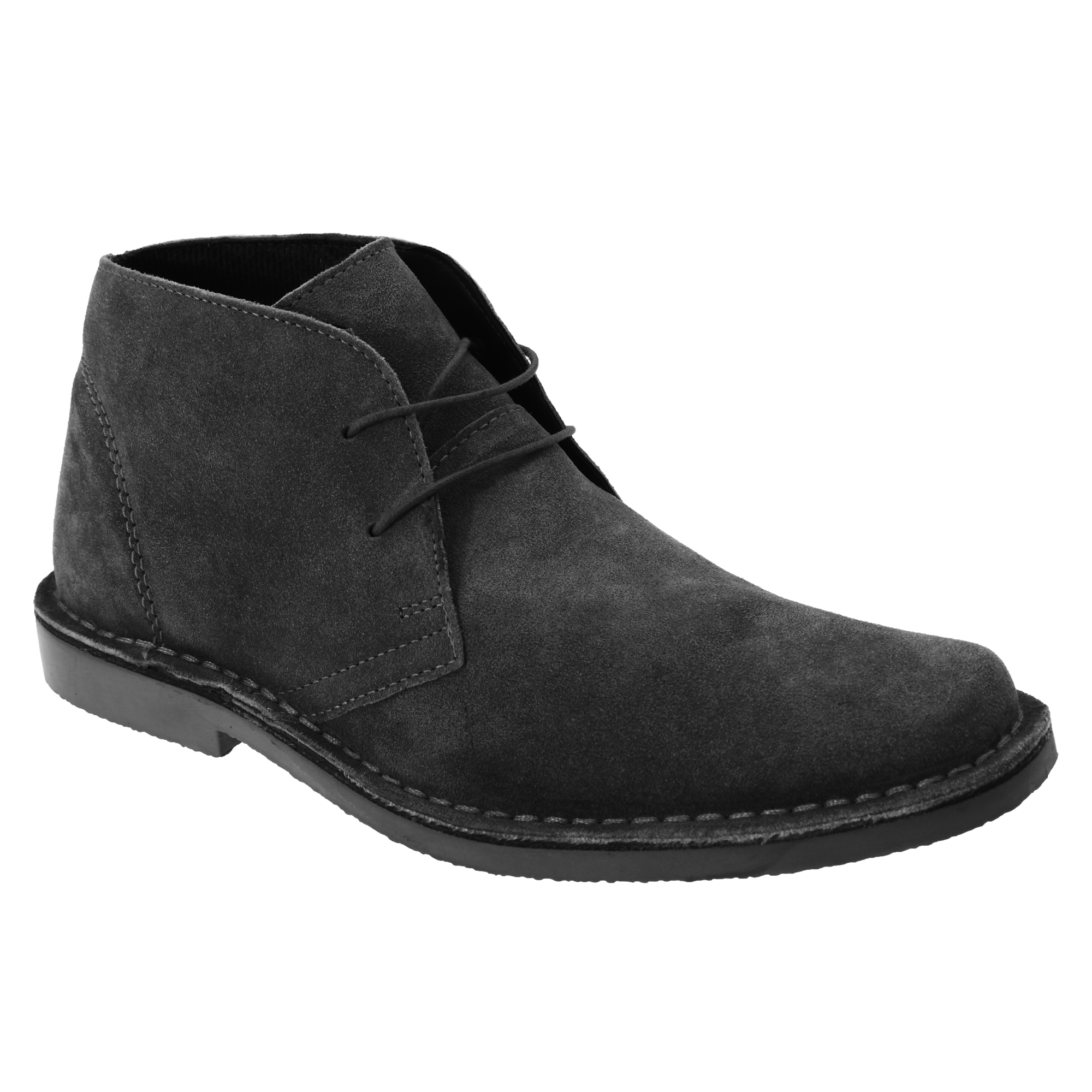 Roamers Mens Real Suede Classic Desert Boots (12 UK) (Sand)