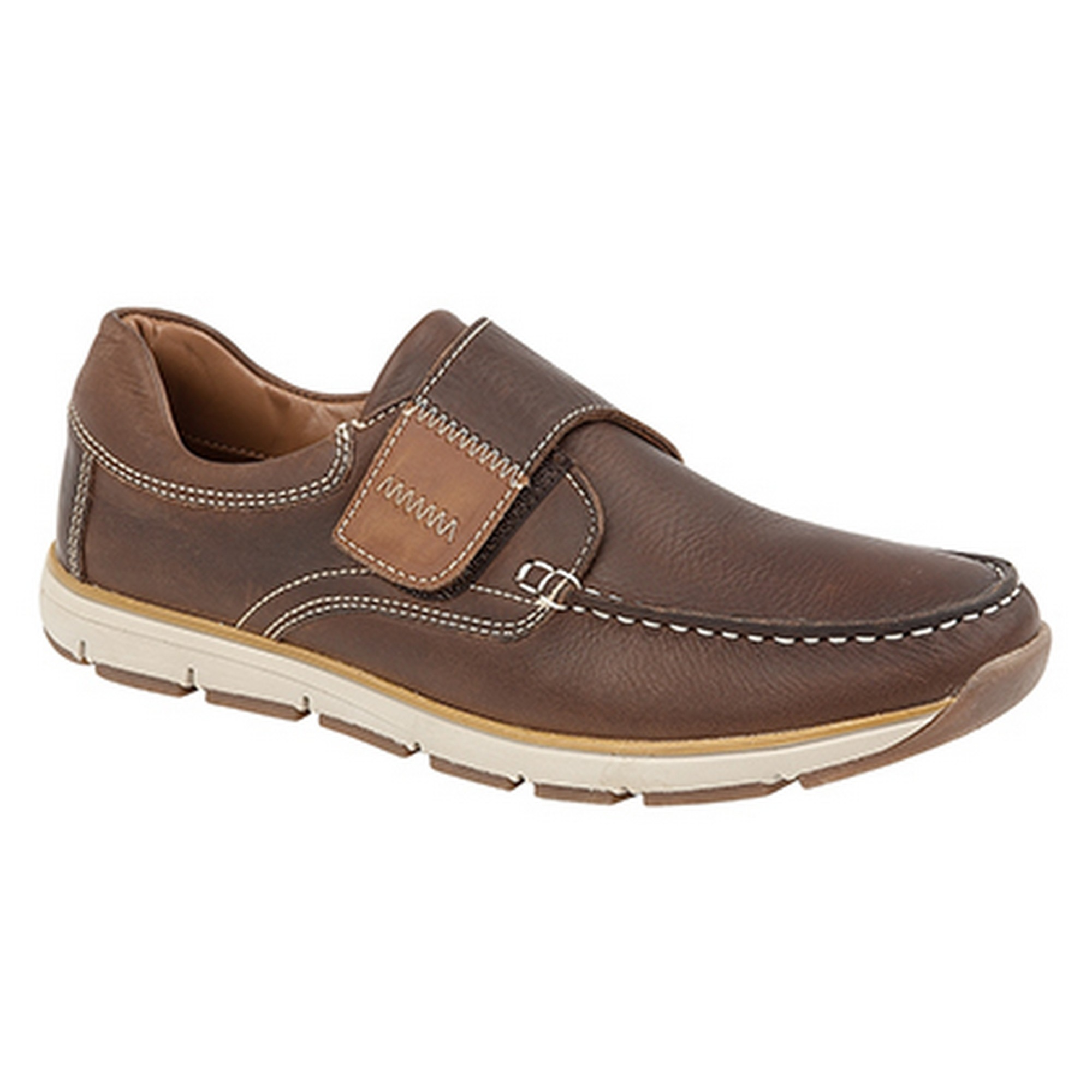 61f27cc0a687 ... Roamers Superlight Mens Touch Fastening Moccasin Leisure Shoes Shoes  Shoes (DF1370) b5a3ad
