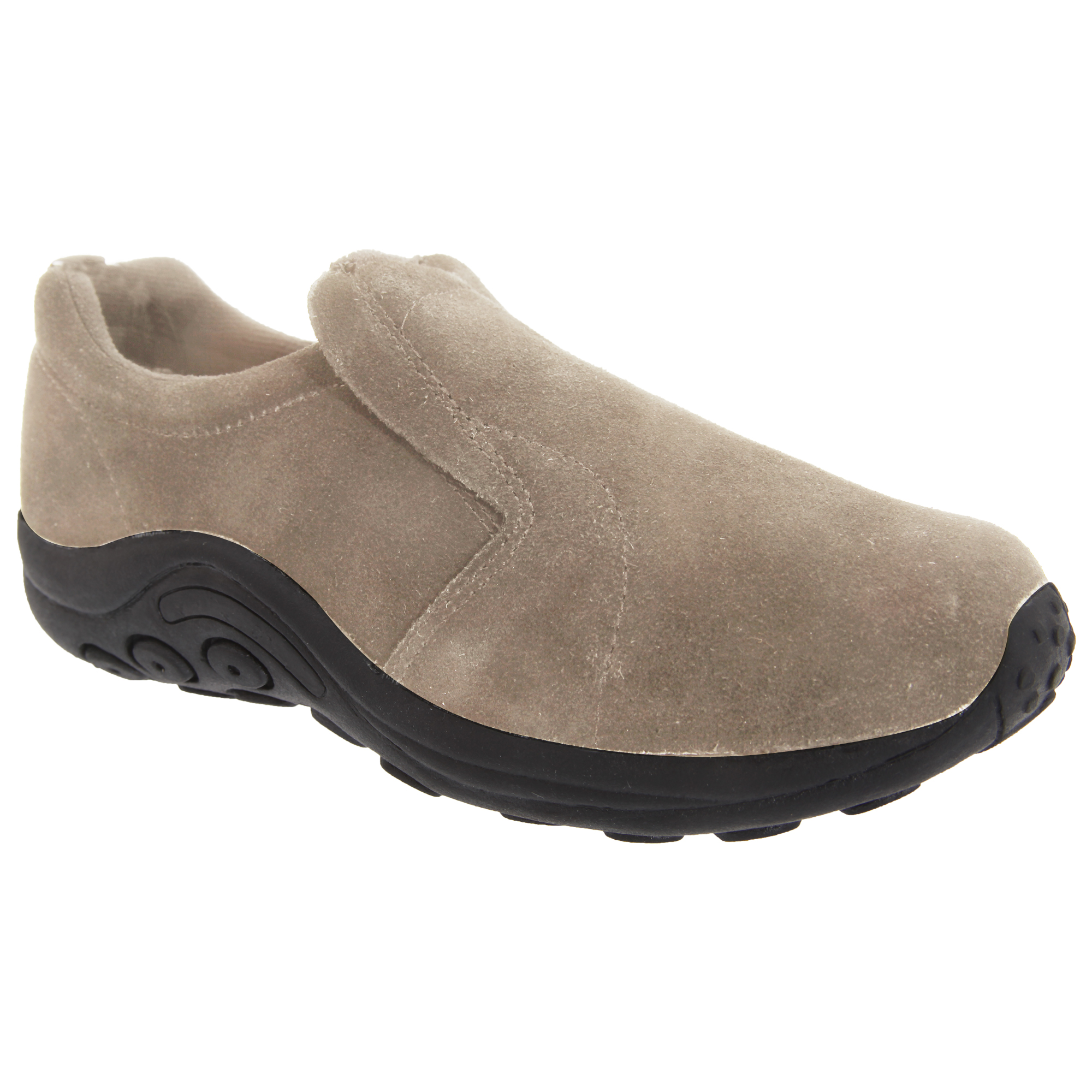PDQ Womens/Ladies Real Suede Ryno Slip-On Casual Trainers (DF139)