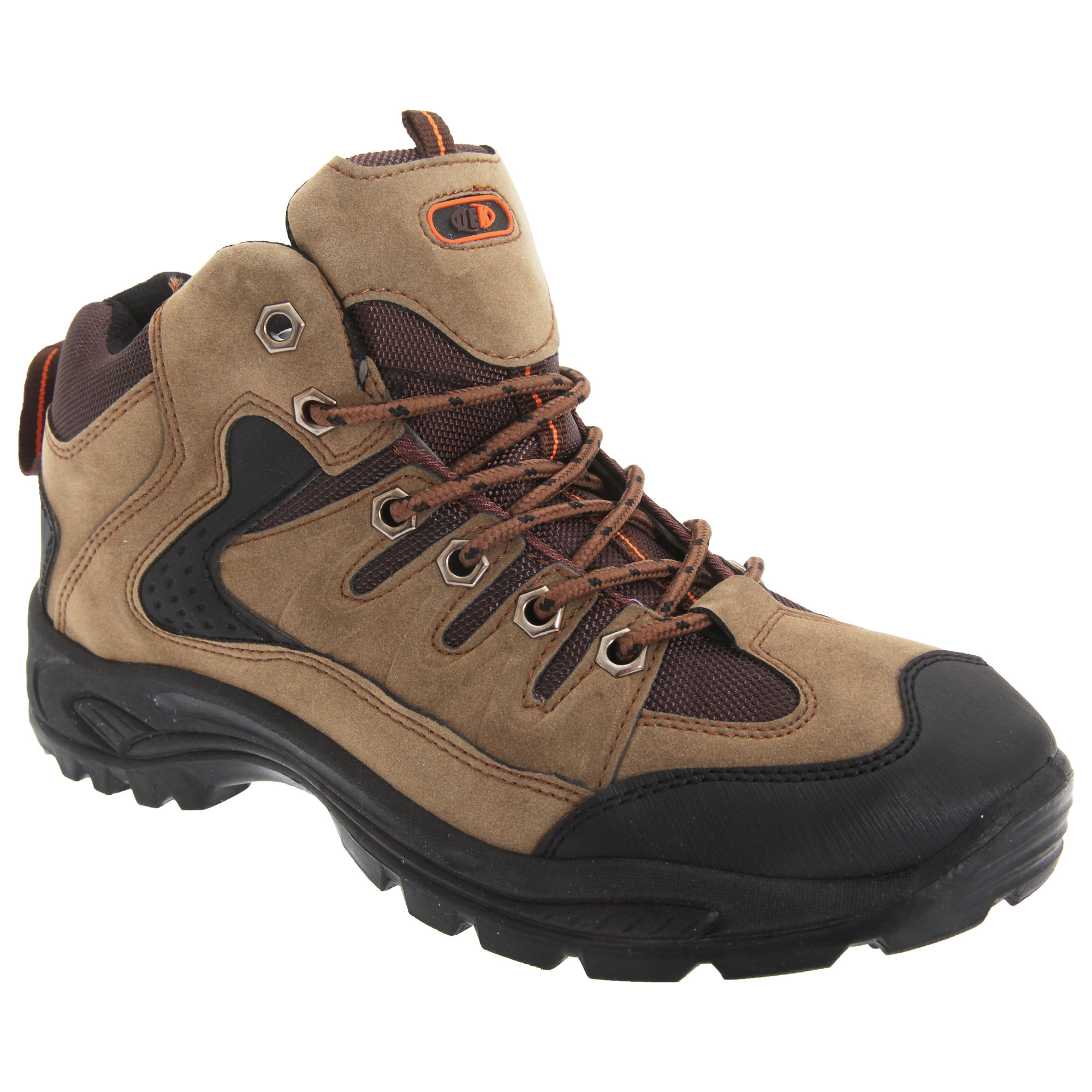 Dek Mens Ontario Lace-Up Hiking Trail Boots (13 UK) (Khaki)
