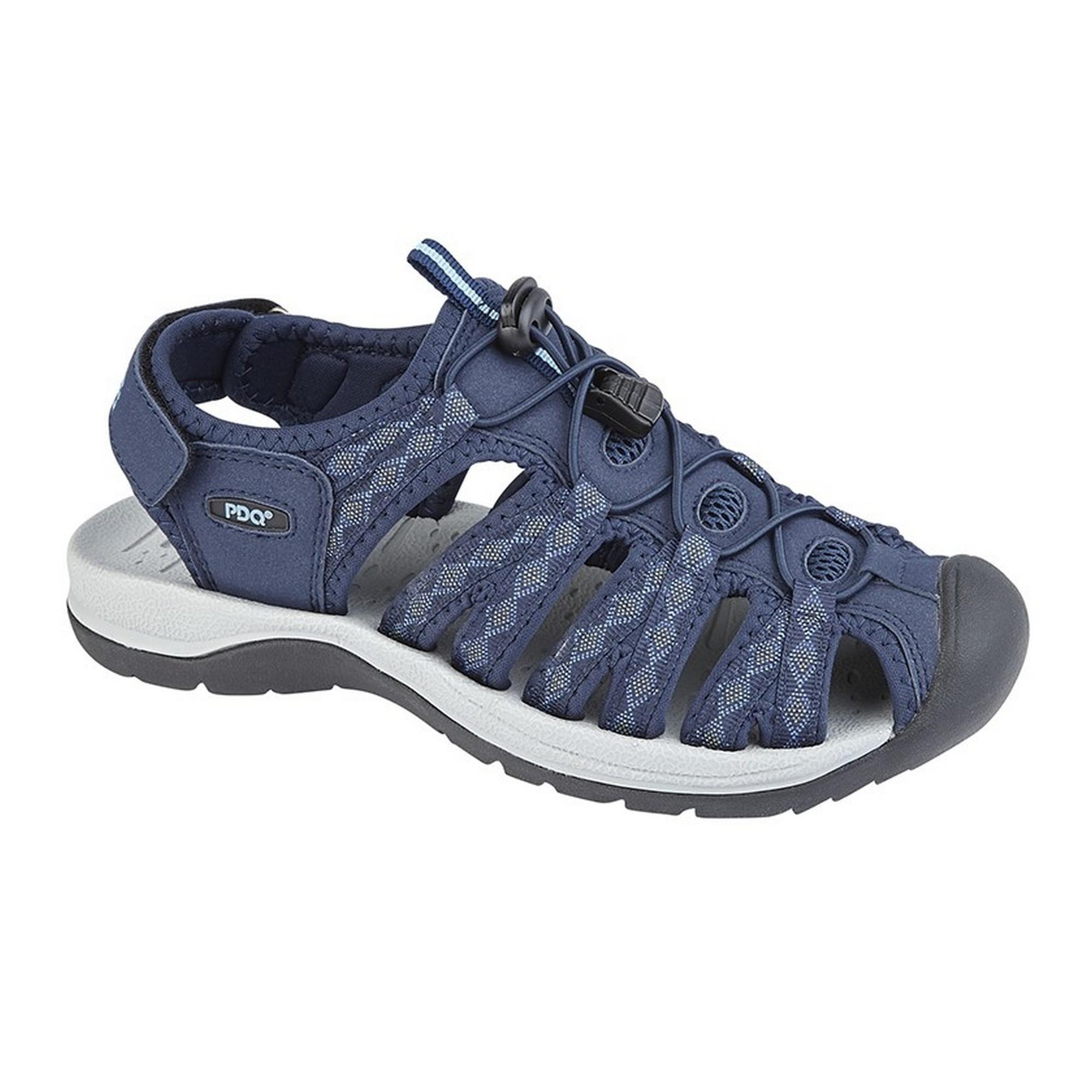 PDQ-Womens-Ladies-Superlight-Floral-Print-Sports-Sandals