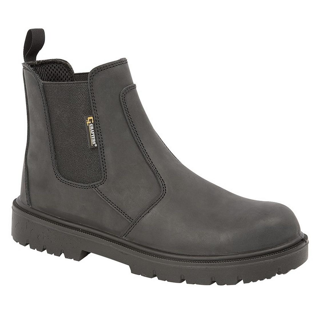 Grafters para seguridad de Zapatos df1438 hombre rfqRr