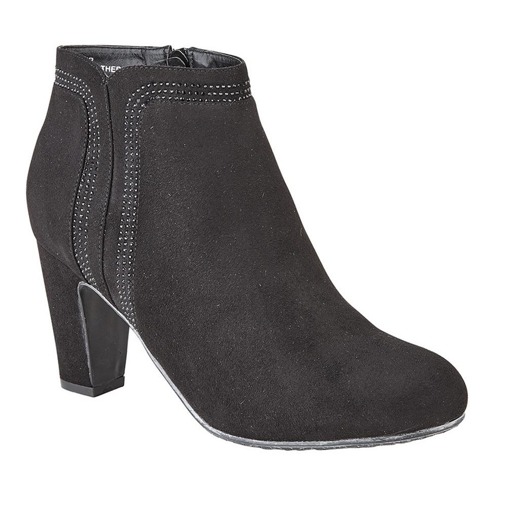 Cipriata-Womens-Ladies-Eva-Diamante-Ankle-Boots-DF1510