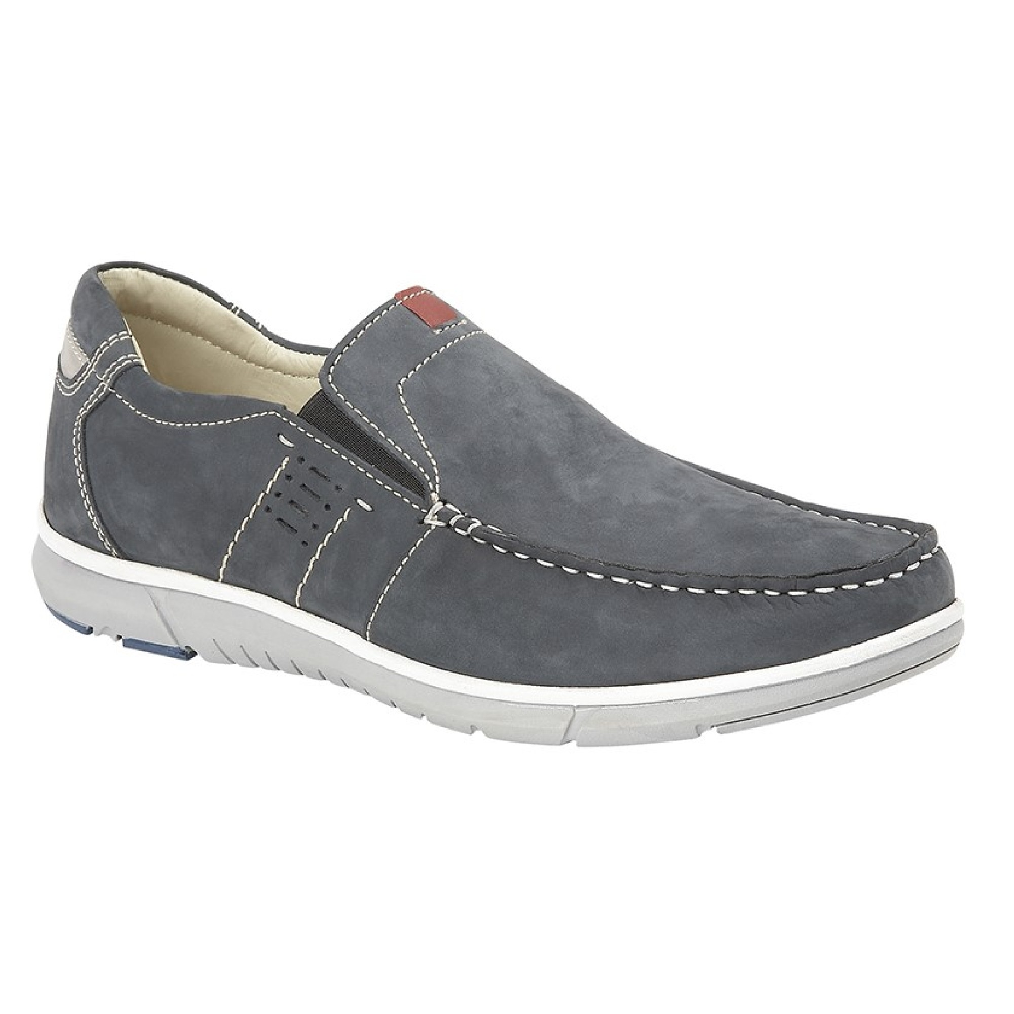 Roamers-Mens-Twin-Gusset-Panel-Casual-Shoes-DF1597