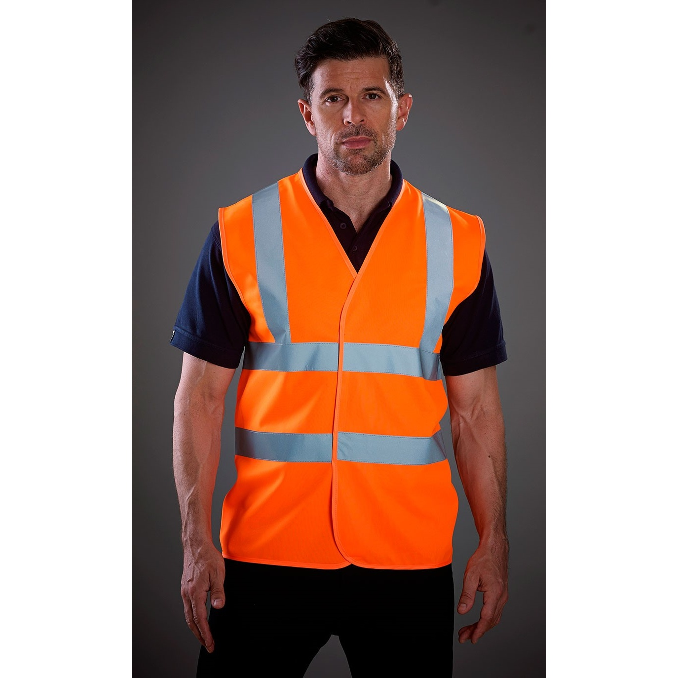 Grafters Unisex Hi-Visibility Safety Waistcoat (6XL) (Yellow)