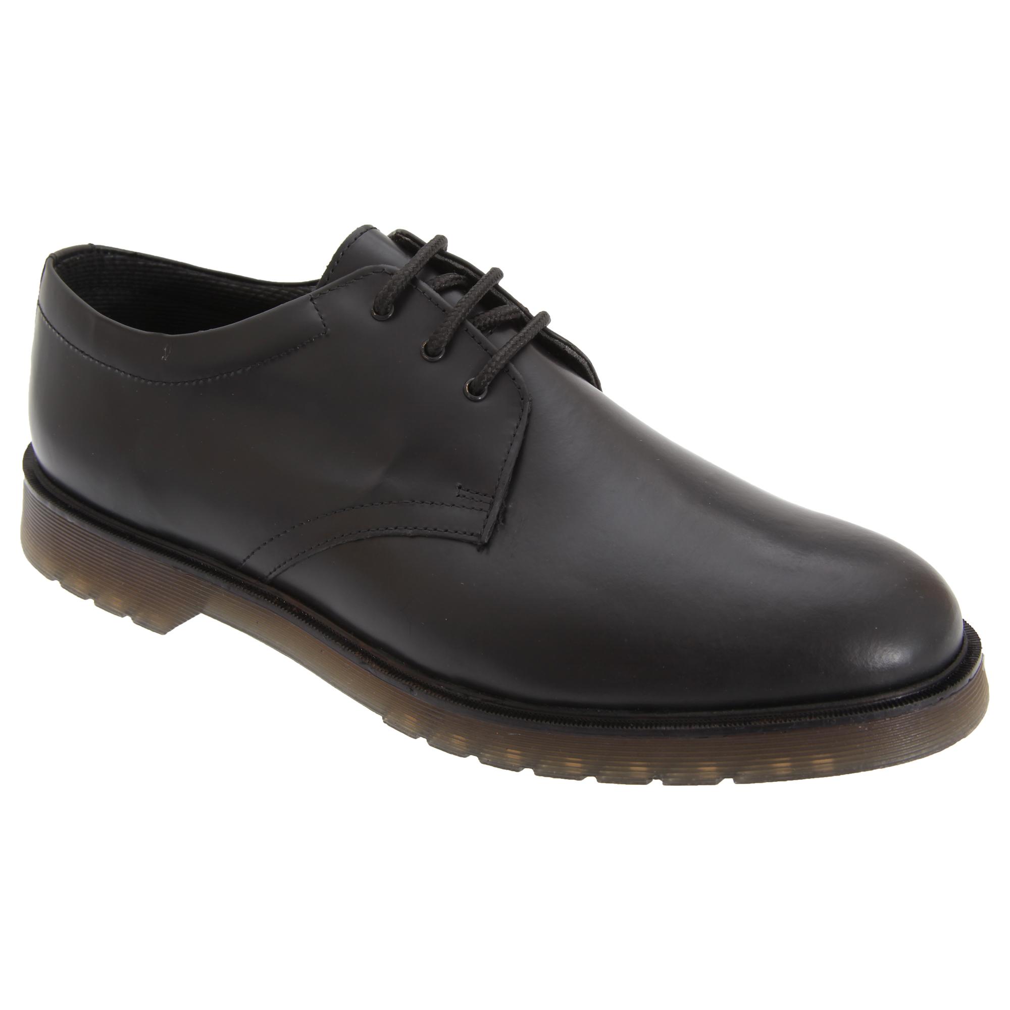Grafters Grafters Grafters - Zapatos uniformes de piel suave brillante con suela con (DF229) e9bbed