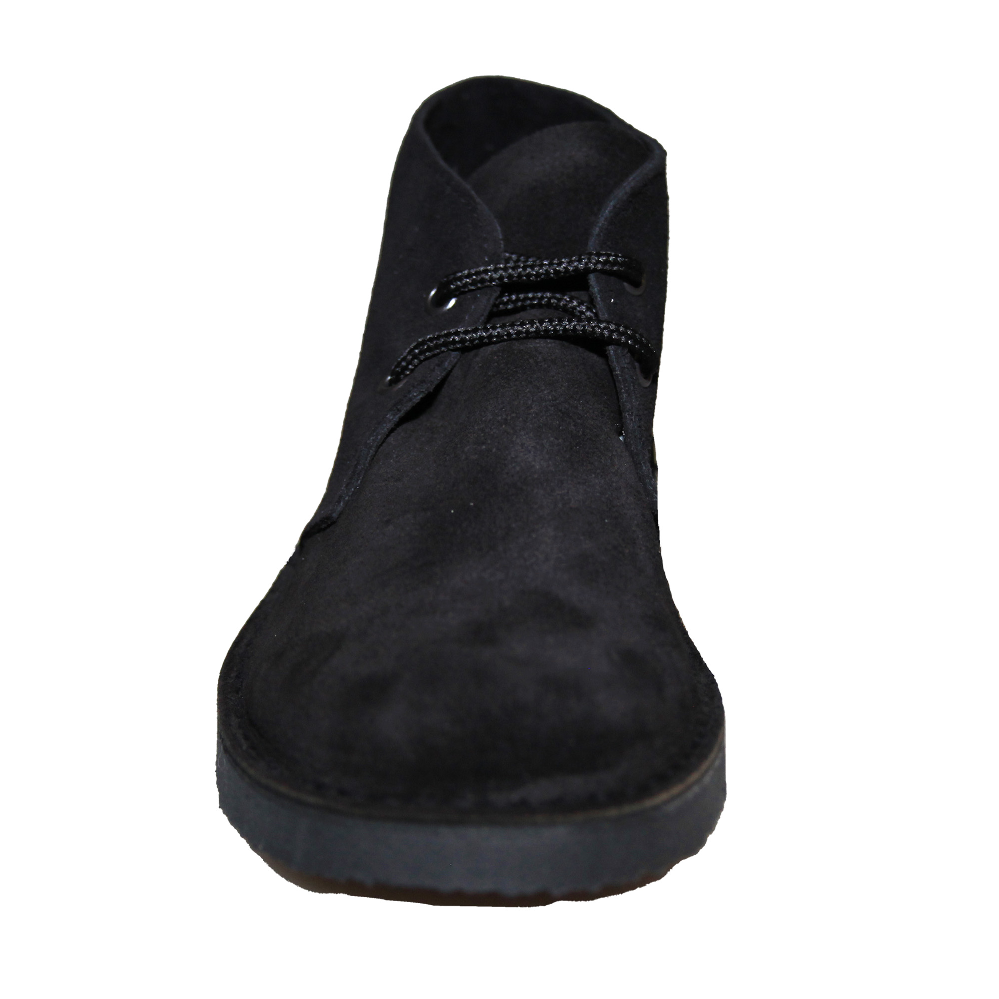 Roamers Womens/Ladies Real Suede Round Toe Unlined Desert Boots (5 UK) (Navy)