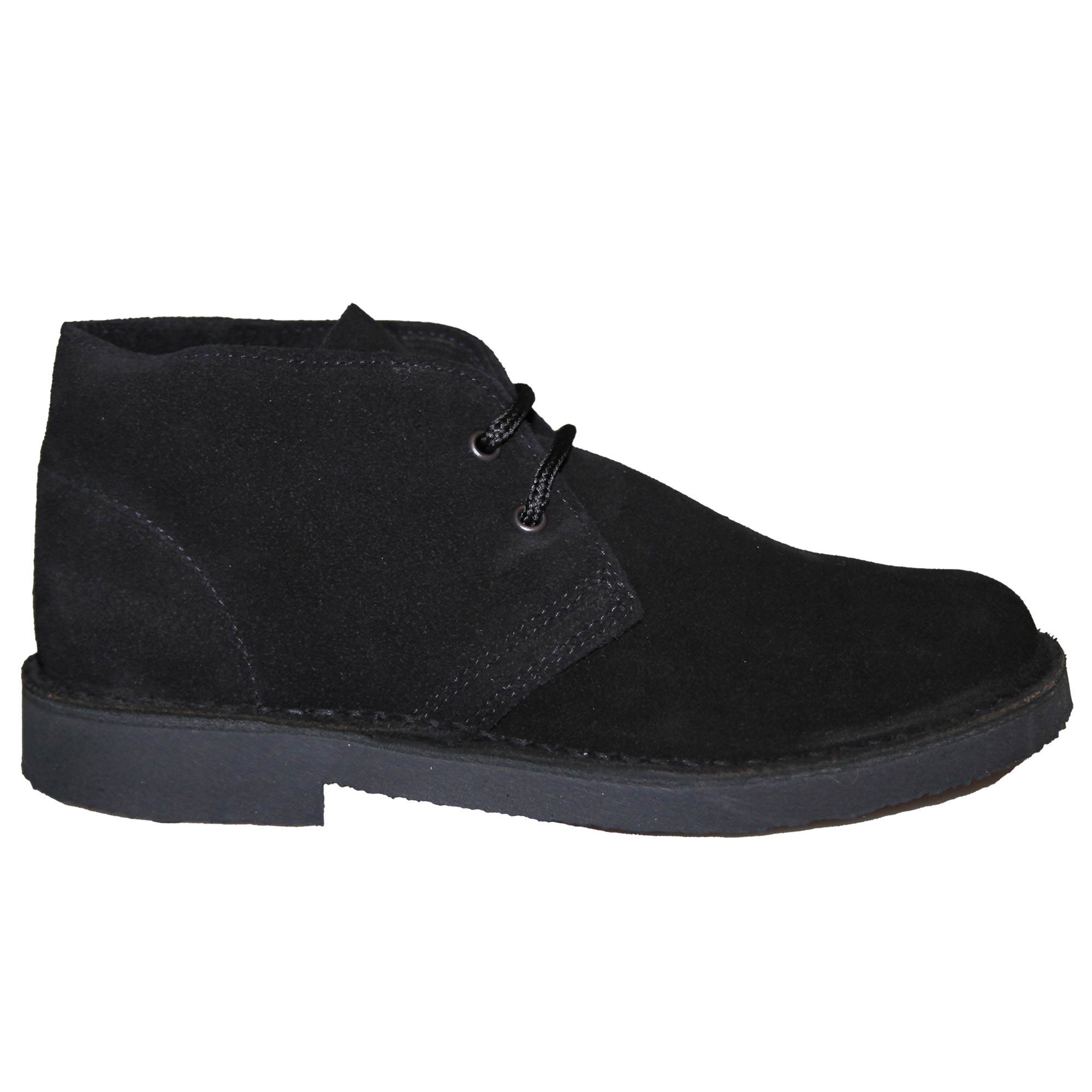 Roamers Womens/Ladies Real Suede Round Toe Unlined Desert Boots (4 UK) (Camel)