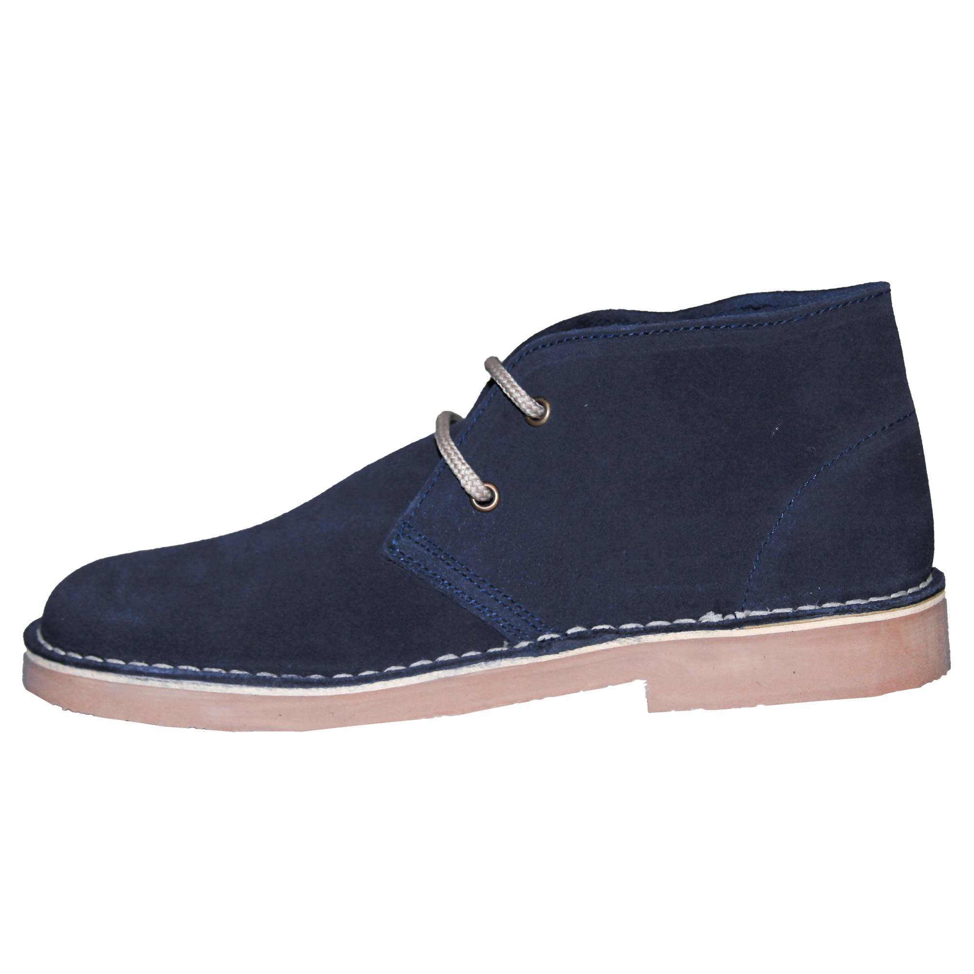 Roamers Mens Real Suede Round Toe Unlined Desert Boots (11 UK) (Camel)