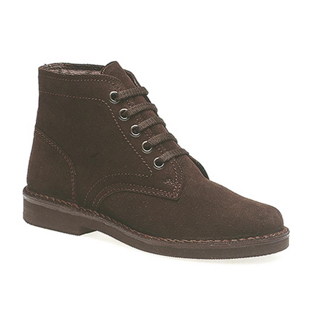 Roamers 5 Eye Leisure Mens Boots Black dDlDs