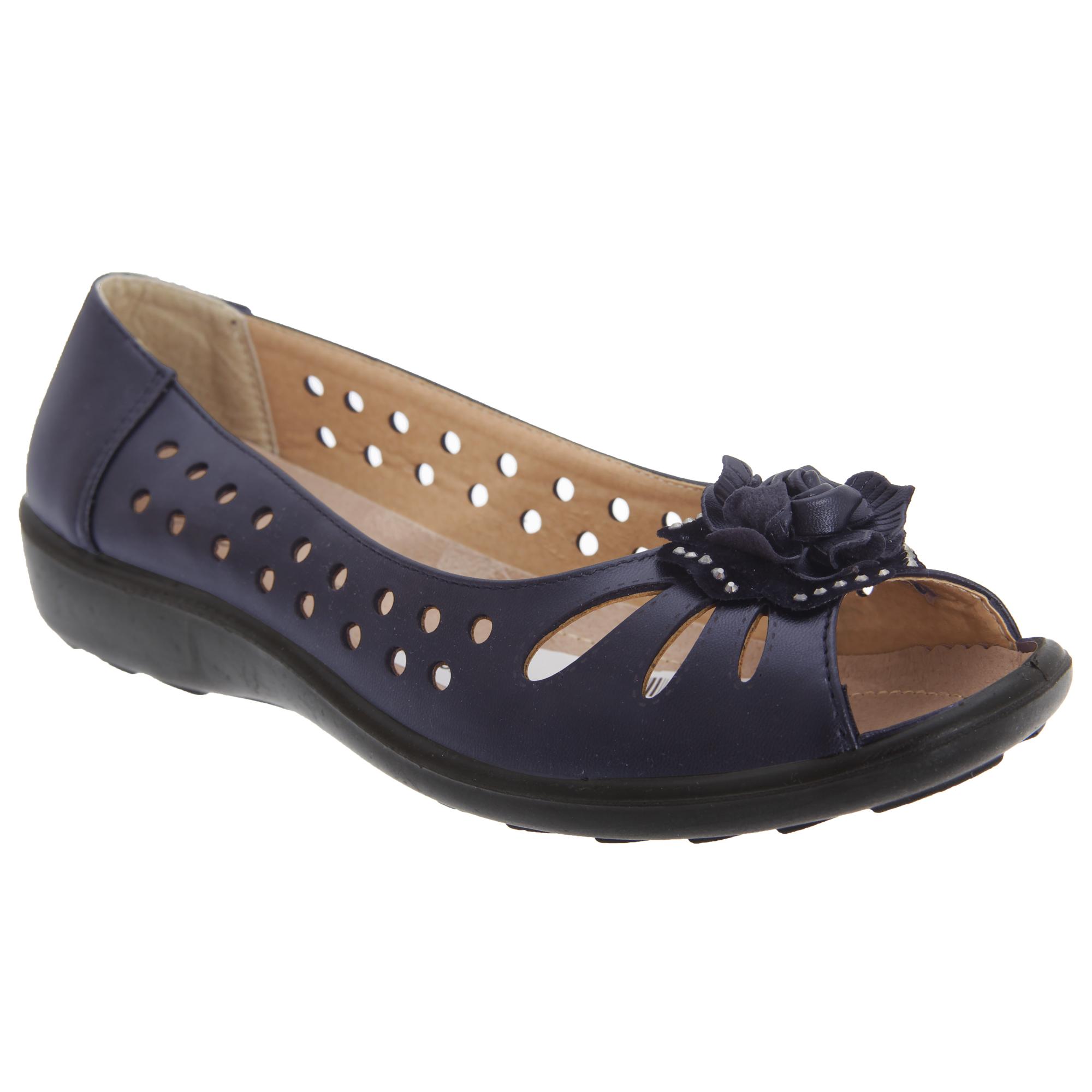 Boulevard -  Zapatos   Zapatos casuales con puntera abierta modelo Punched para (DF445) 9d52c1