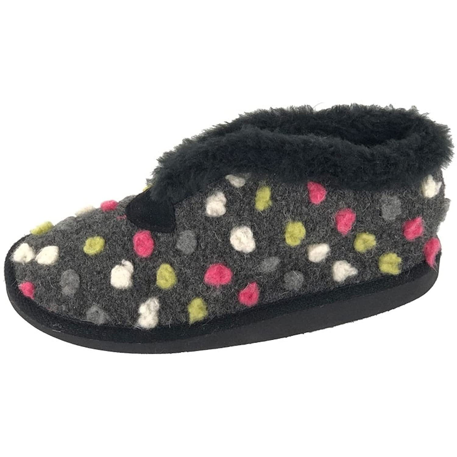 Sleepers Women//Ladies Tilly Lightweight Thermal Lined Bootee Slippers DF544
