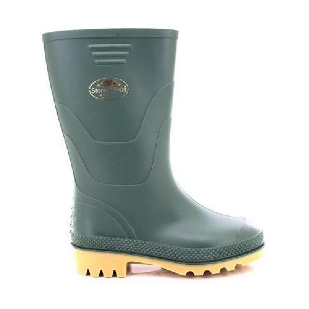 StormWells Older Childrens//Kids Boys Junior Wellingtons//Wellies Boots DF979