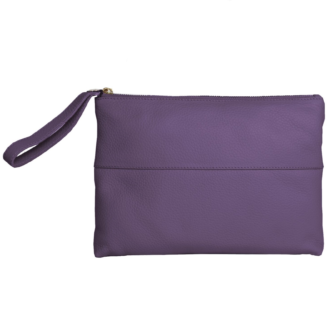 Eastern Counties Leather Womens/Ladies Courtney Clutch Bag (One size) (Purple)