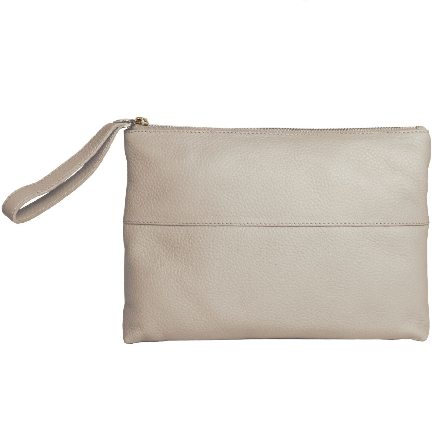 Eastern Counties Leather Womens/Ladies Courtney Clutch Bag (One size) (Stone)