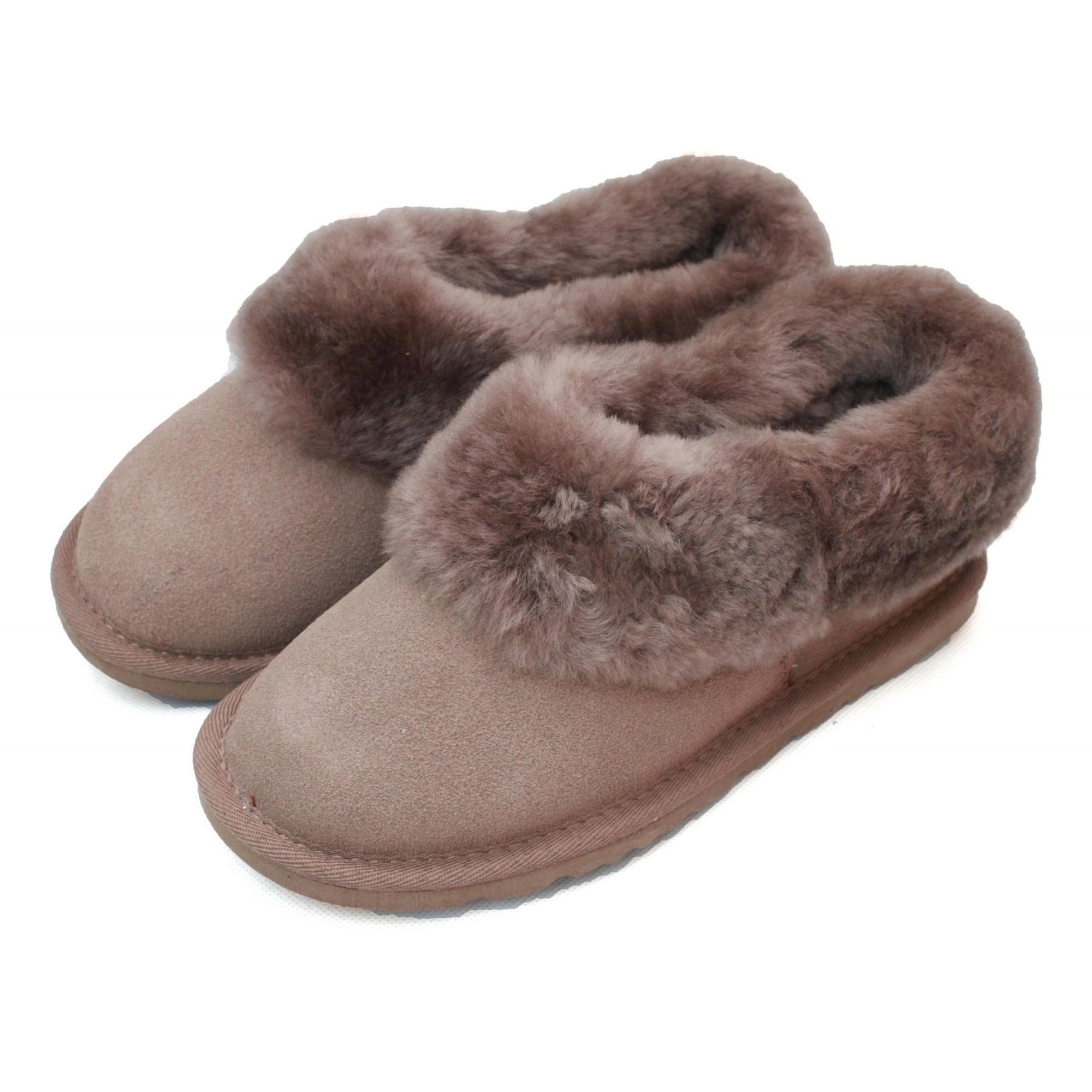 Eastern-Counties-Leather-Womens-Ladies-Sheepskin-Lined-Slipper-Boots-EL156 miniatura 5