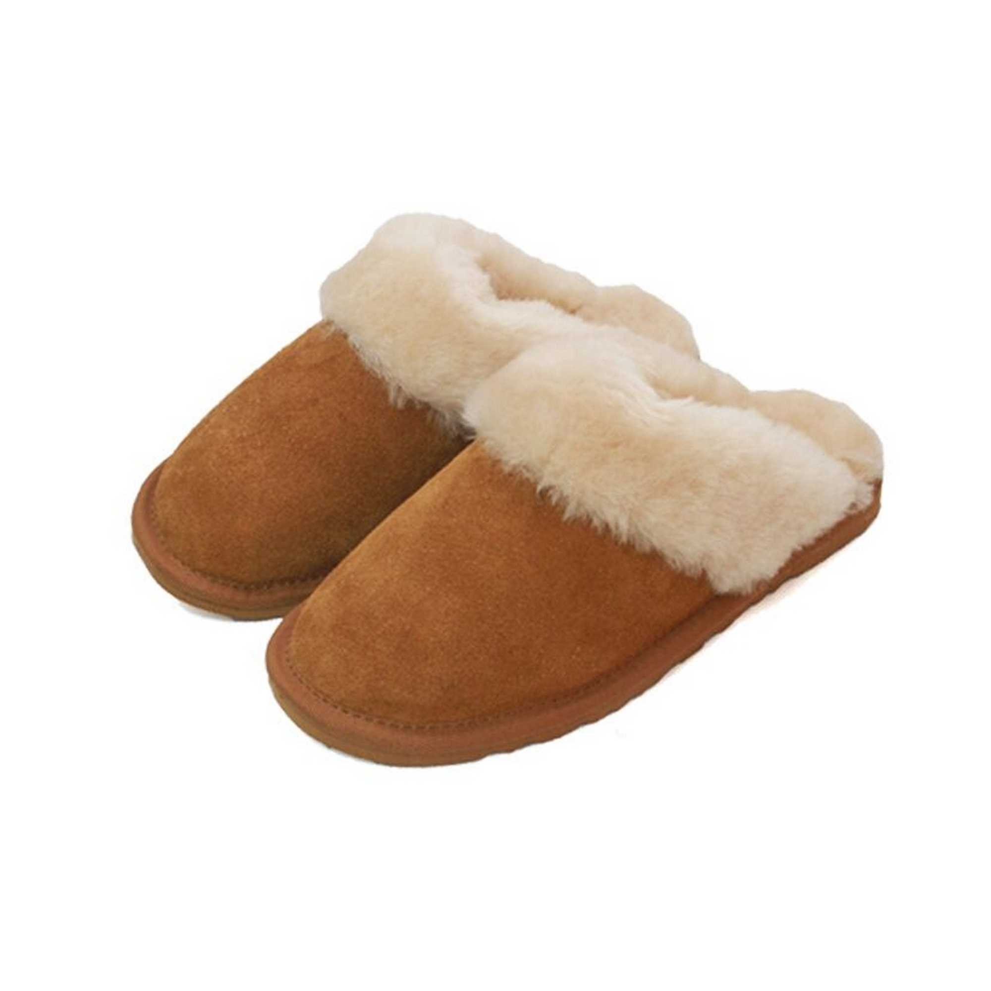 Eastern Counties Leder mit Damen Pantoffeln mit Leder Schaffell-Innenfutter (EL157) 3a0a68