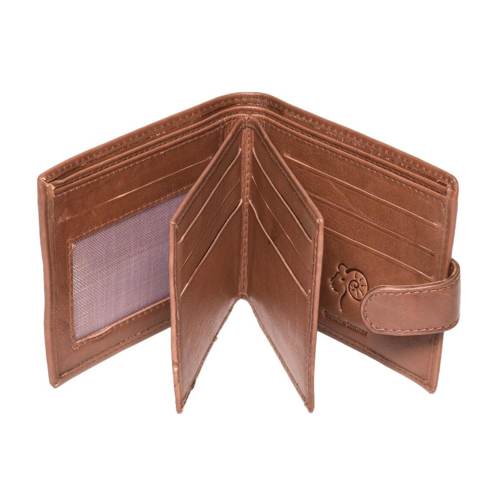 Royal-Ram-Harry-Bifold-Leather-Wallet-EL187 thumbnail 3