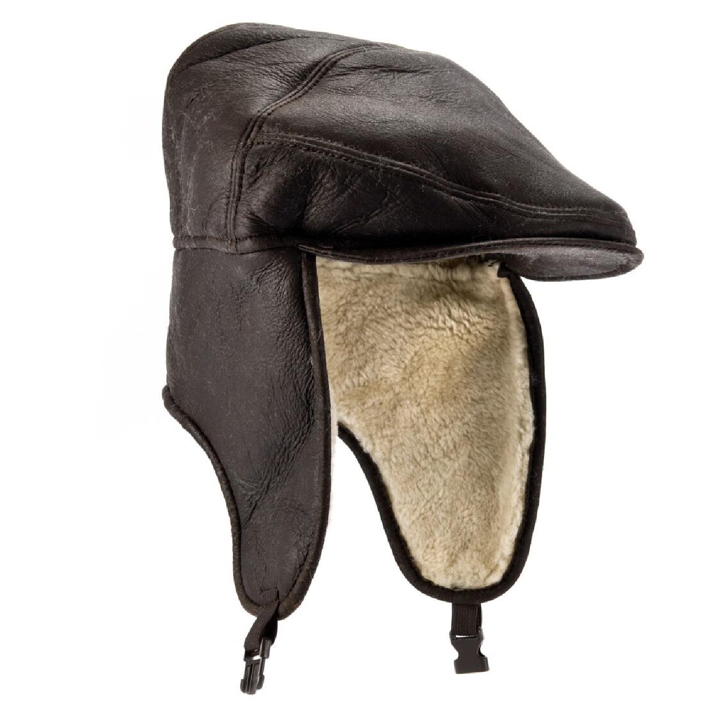 Eastern Counties Leather Herren Newton Schaffell Nappa Nappa Nappa Finish Kappe (EL242)  | Stil  b464f1
