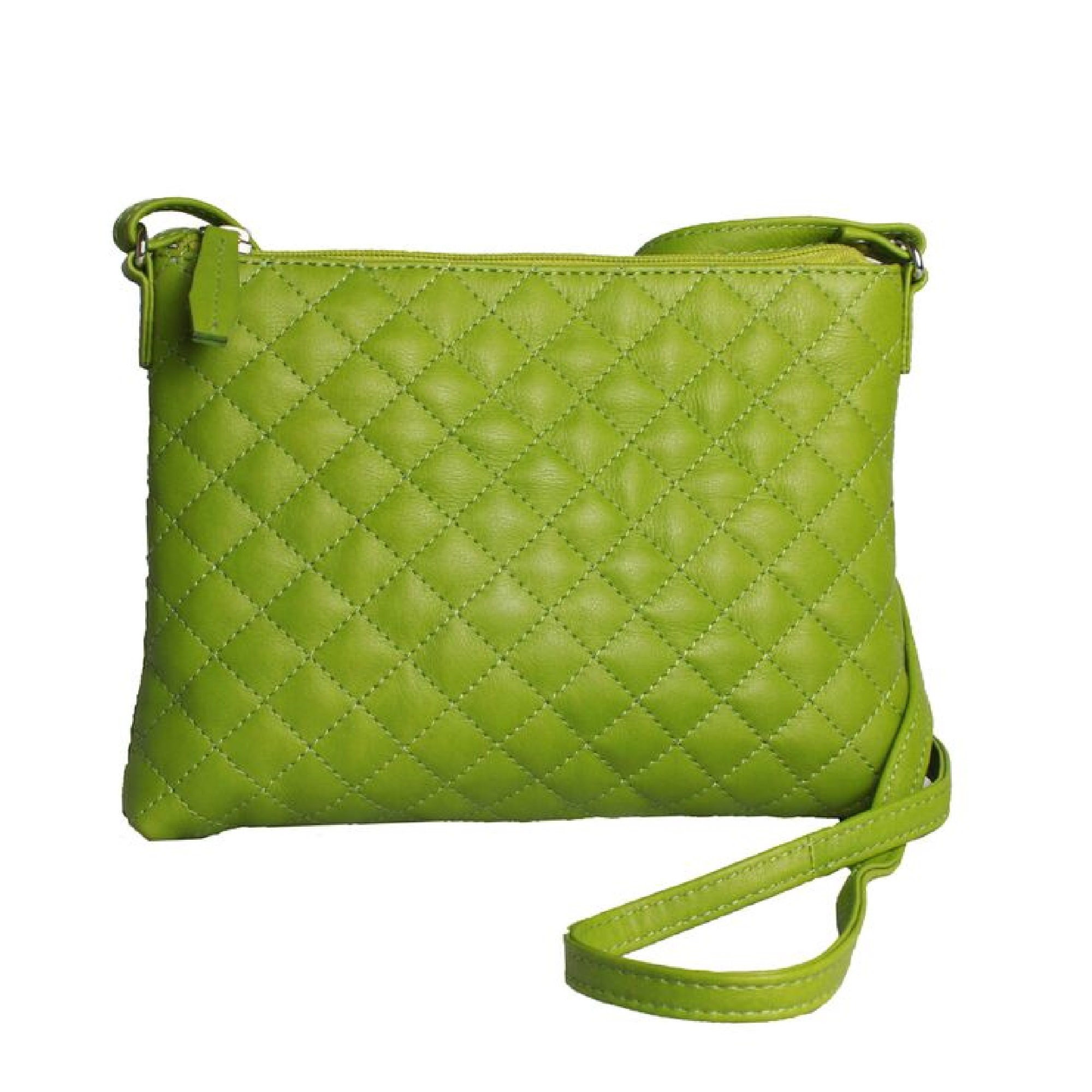 Eastern Counties Leather Womens/Ladies Rose Quilted Handbag (One size) (Parrot)