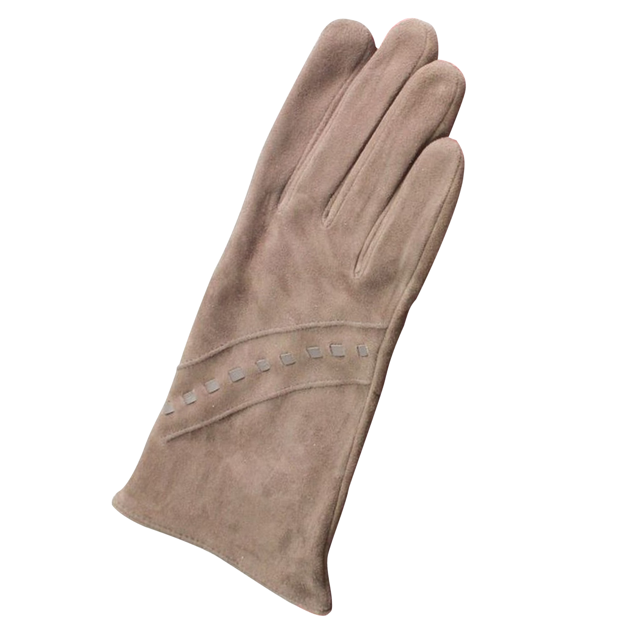 Eastern Counties Leather Womens/Ladies Sian Suede Gloves (XL) (Taupe)