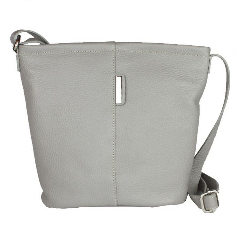 Eastern Counties Leather Womens/Ladies Erica Handbag With Metal Detail (One Size) (Charcoal)