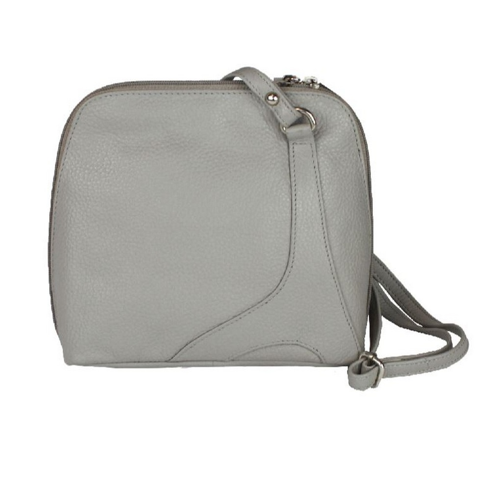 Eastern Counties Leather Womens/Ladies Farah Handbag With Panel Detail (One Size) (Charcoal)