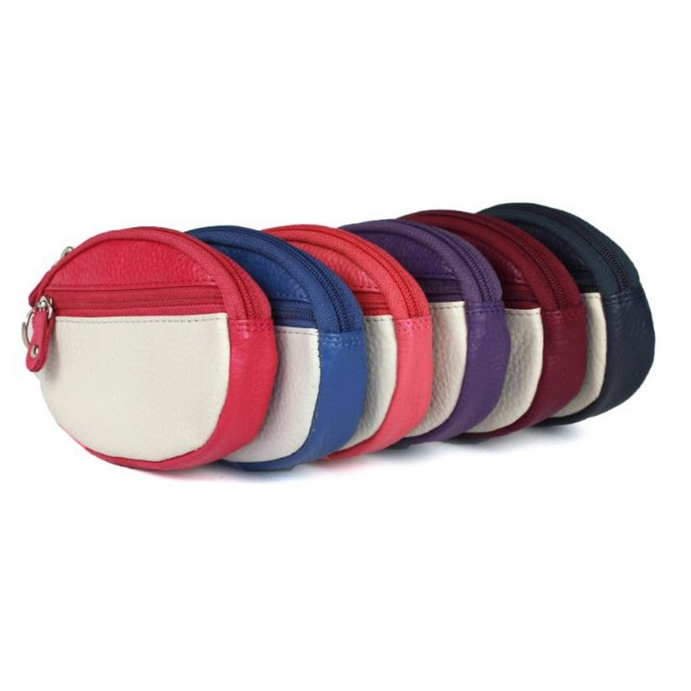 Eastern Counties Leather Womens/Ladies Tori Coin Purse (Pack Of 6) (One Size) (Assorted)
