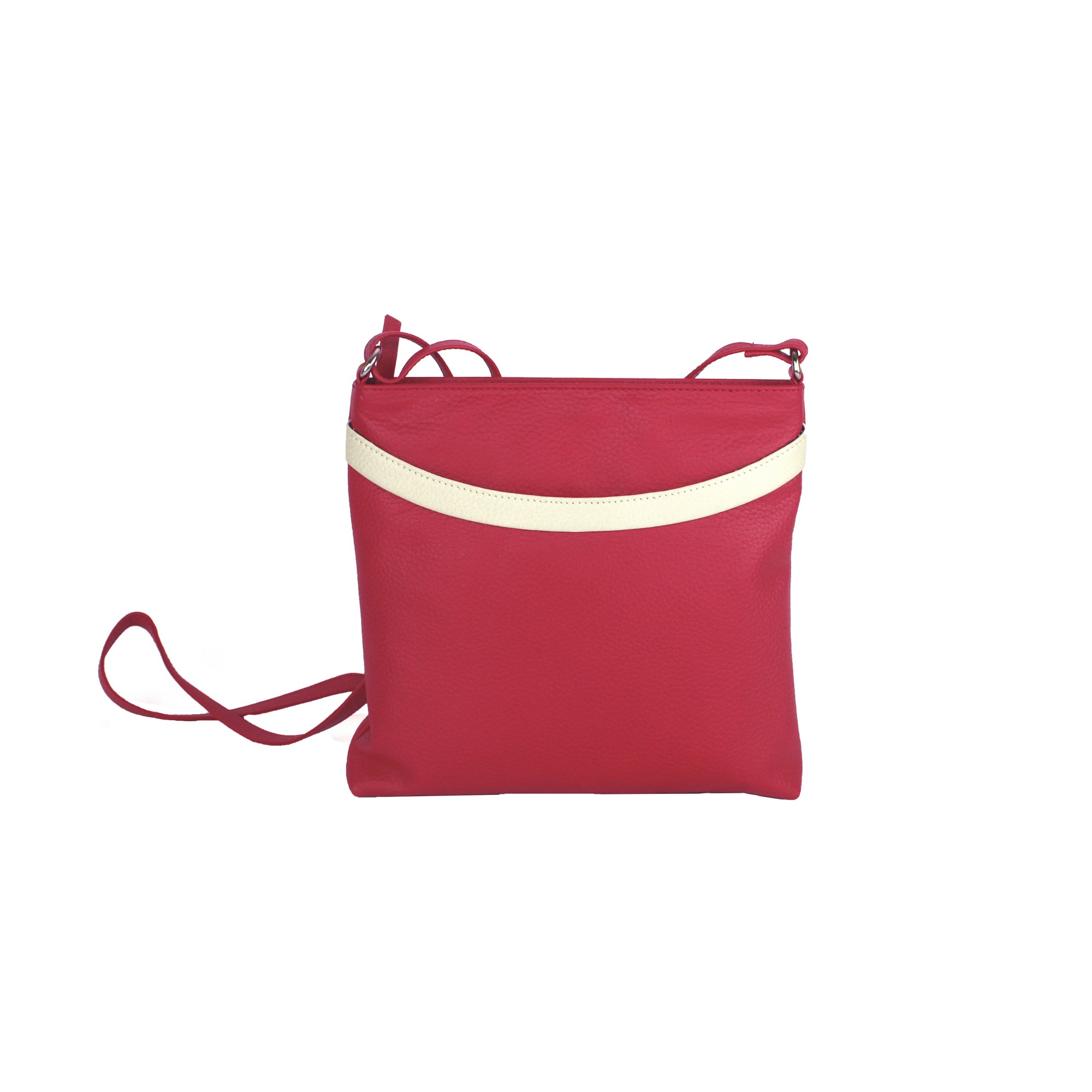 Eastern Counties Leather Womens/Ladies Aimee Colour Band Handbag (One size) (Pink/White)