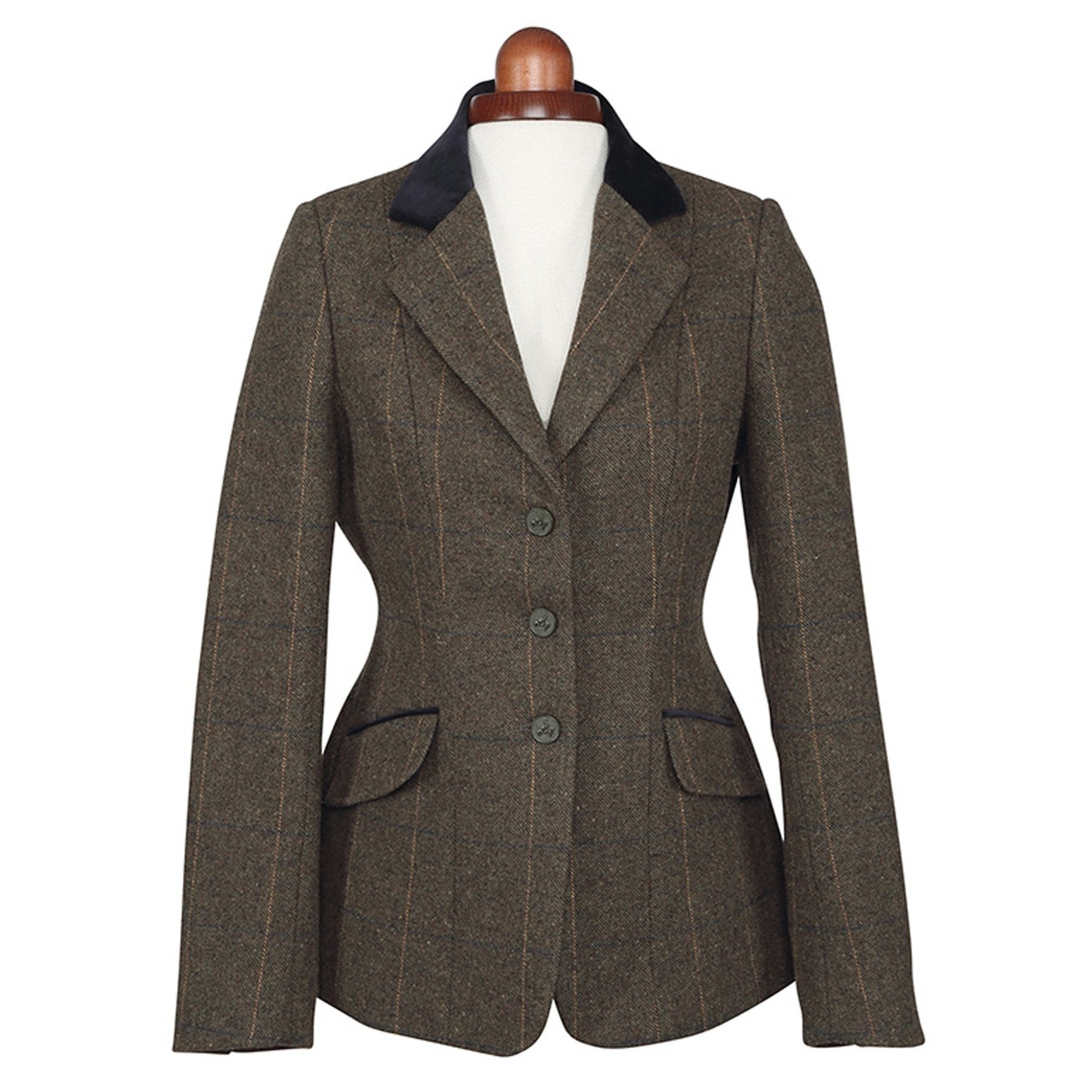Aubrion Womens/Ladies Saratoga Show Jumping Jacket (30) (Green)