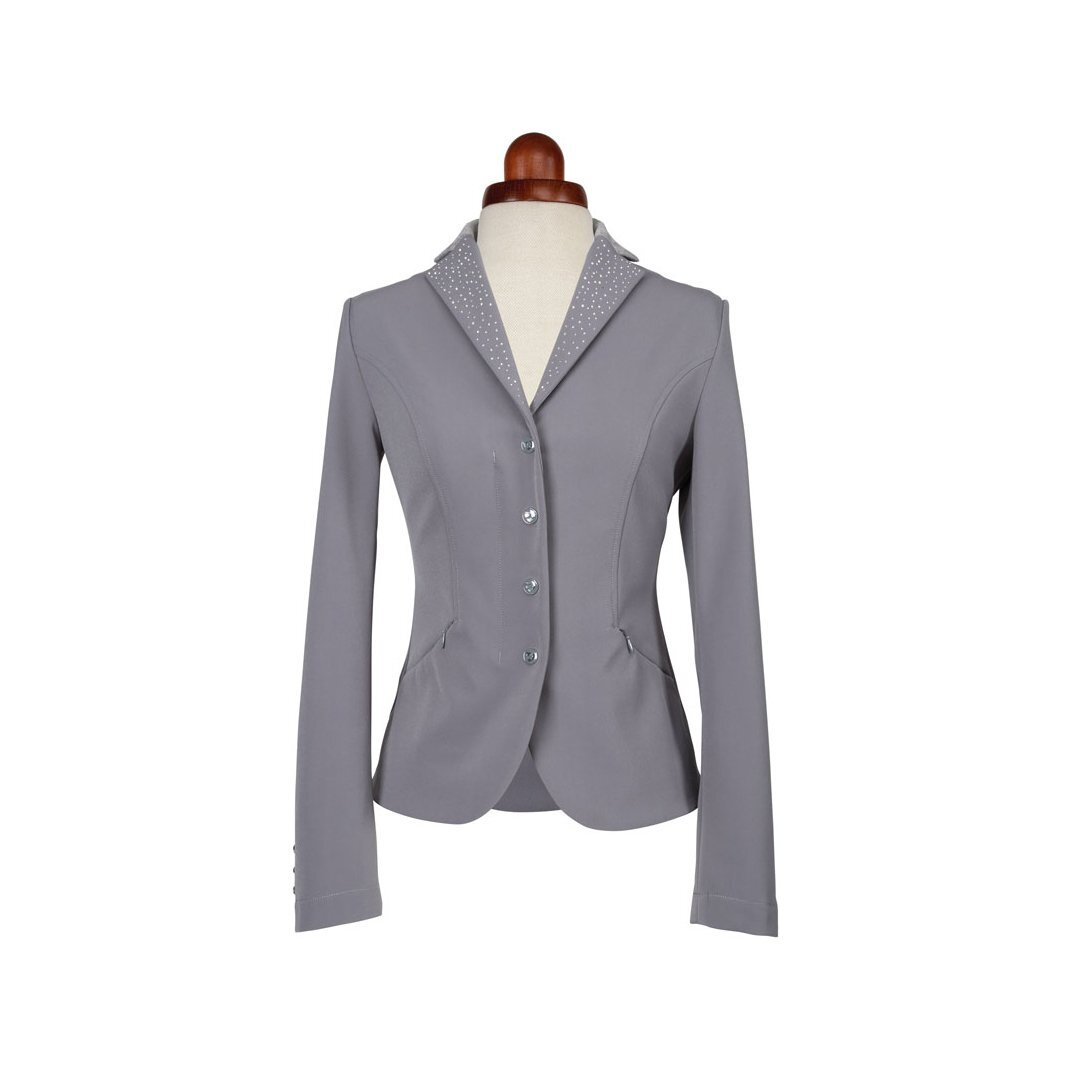 Aubrion Womens/Ladies Park Royal Suede Show Jumping Jacket (32) (Grey)
