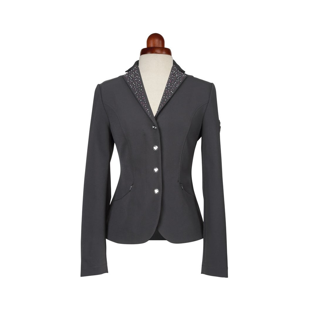 Aubrion Womens/Ladies Park Royal Suede Show Jumping Jacket (28) (Black)