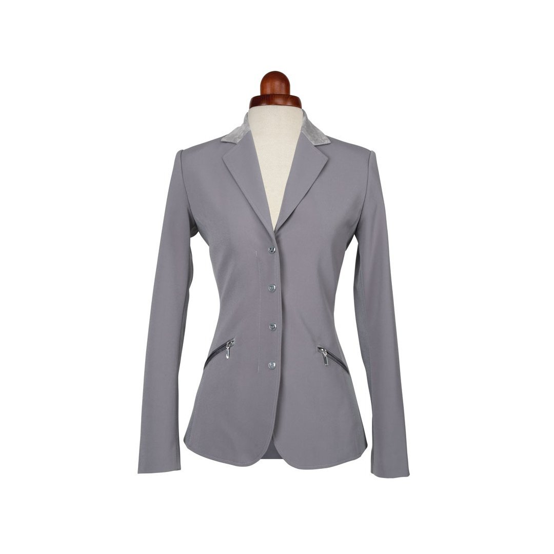 Aubrion Womens/Ladies Oxford Suede Show Jumping Jacket (40) (Grey)