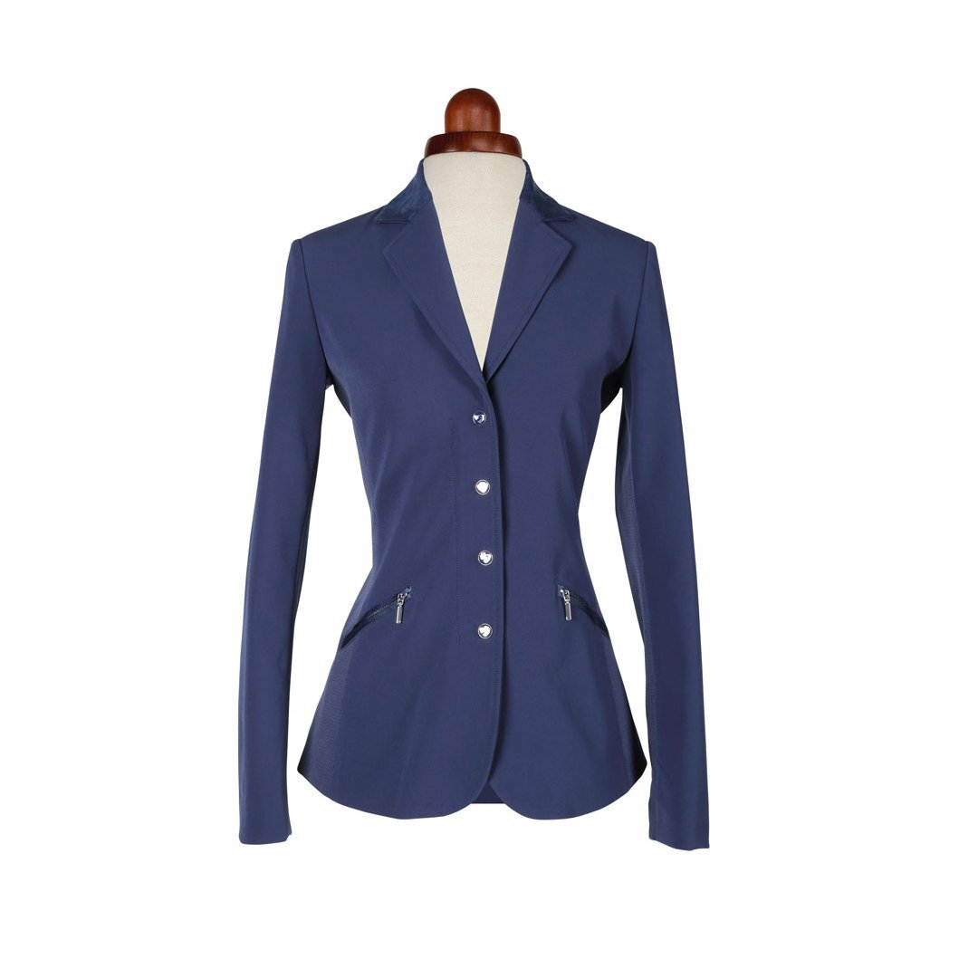 Aubrion Womens/Ladies Oxford Suede Show Jumping Jacket (34) (Navy)