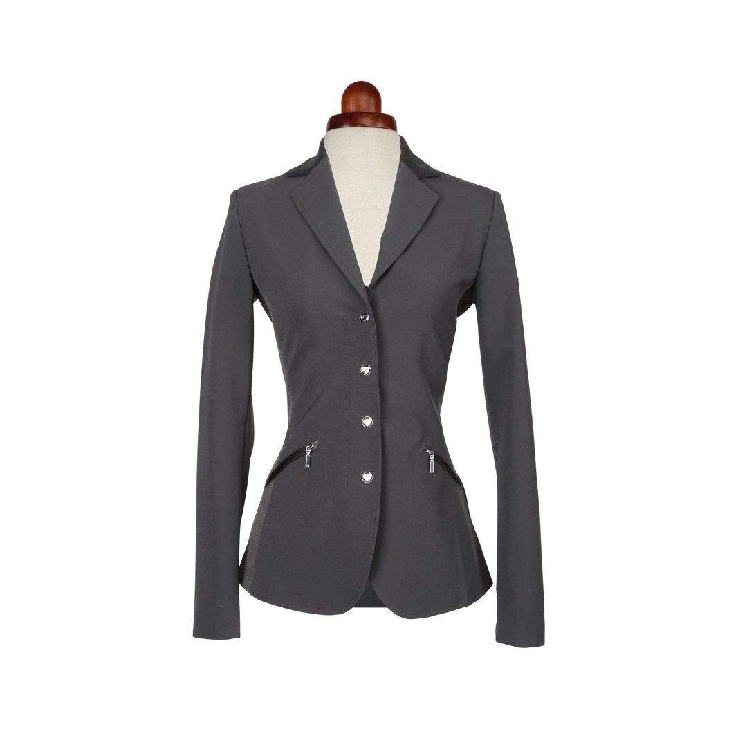 Aubrion Womens/Ladies Oxford Suede Show Jumping Jacket (36) (Black)