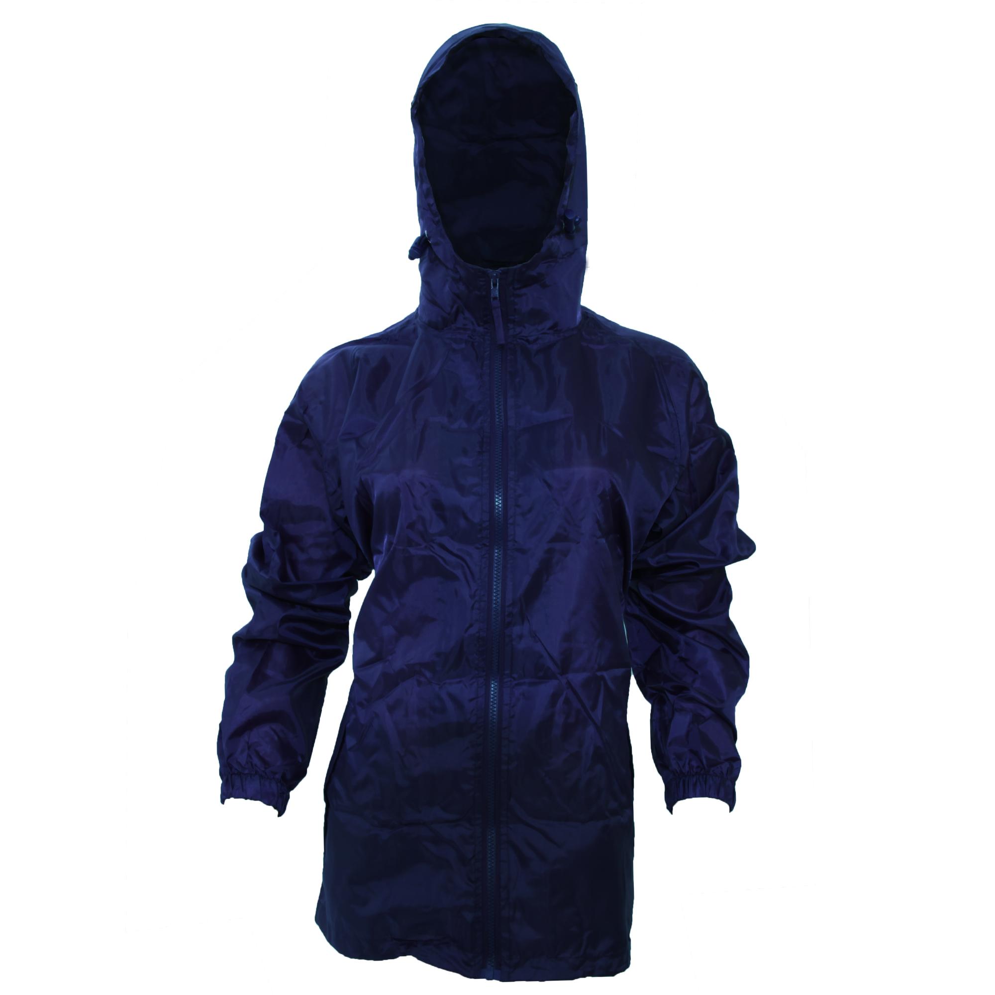 Womens hooded rain jackets