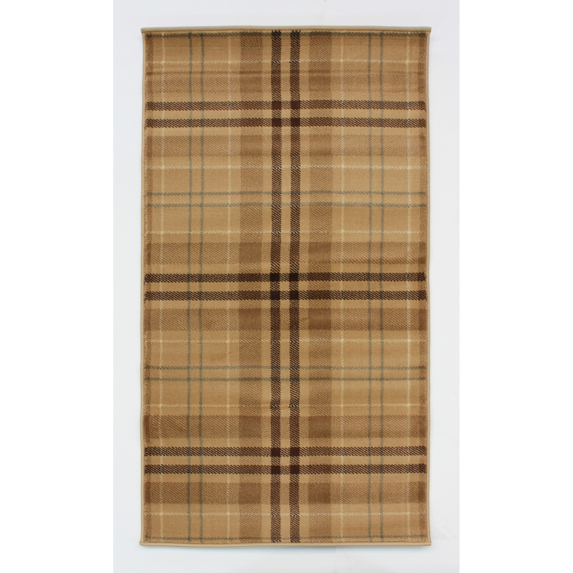 Plaid Rug: Flair Rugs Glen Kilry Tartan Checked Floor Rug