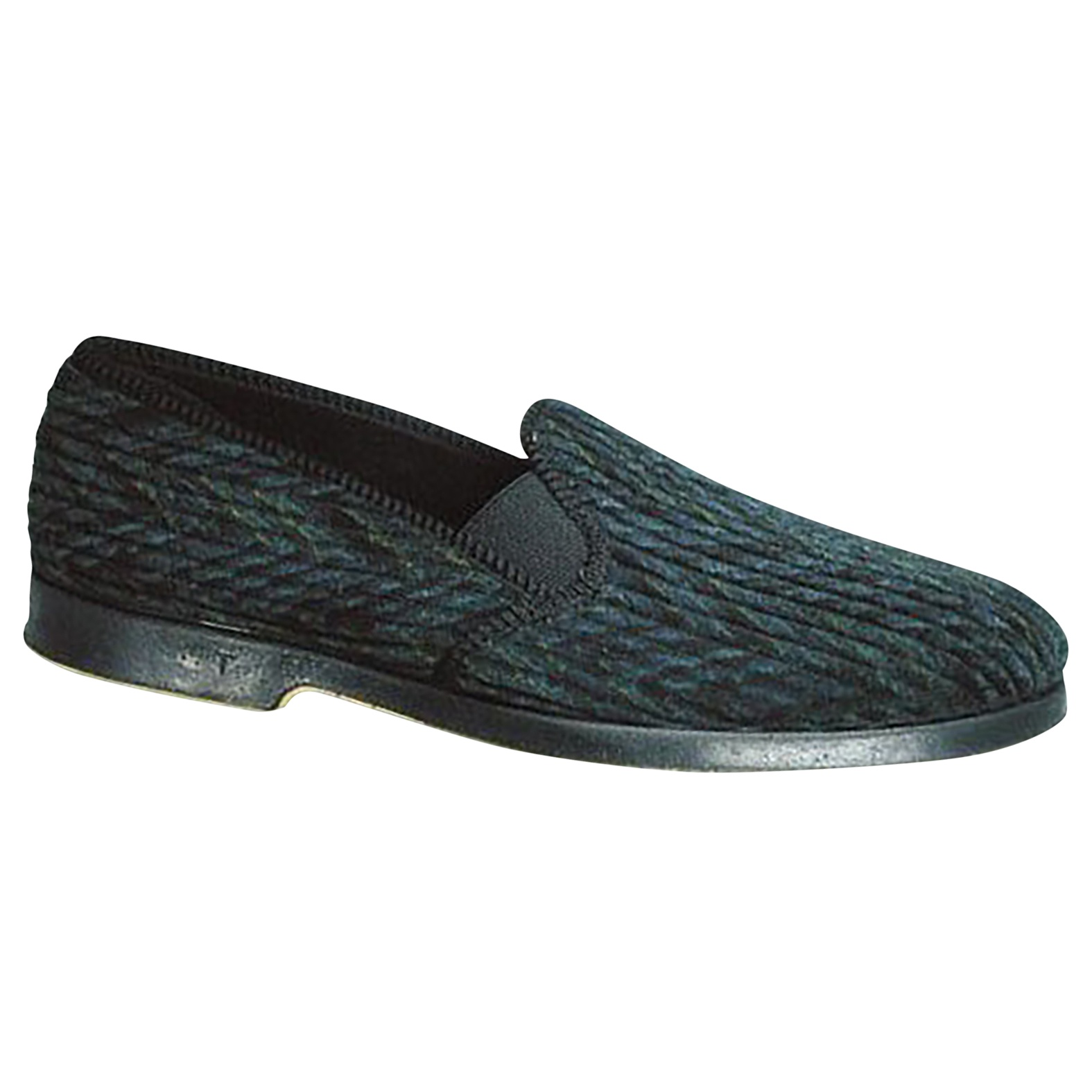 GBS Lonsdale Mens Twin Gusset Loafer Slip-on Slippers /Indoor Footwear (FS107)