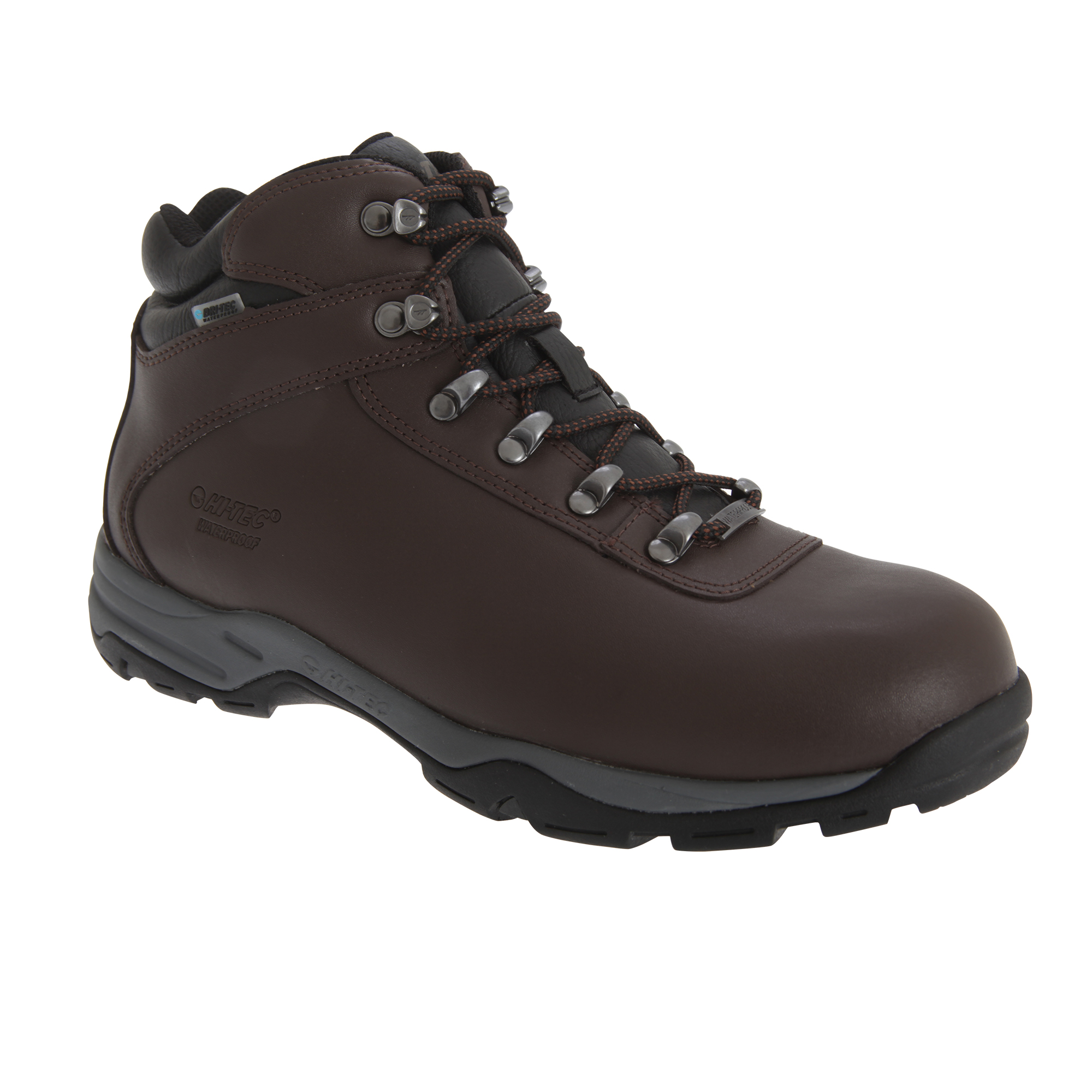Hi-Tec Eurotrek WP Mens Lace up Leather Casual Ankle Hiking /Walking (FS1205)