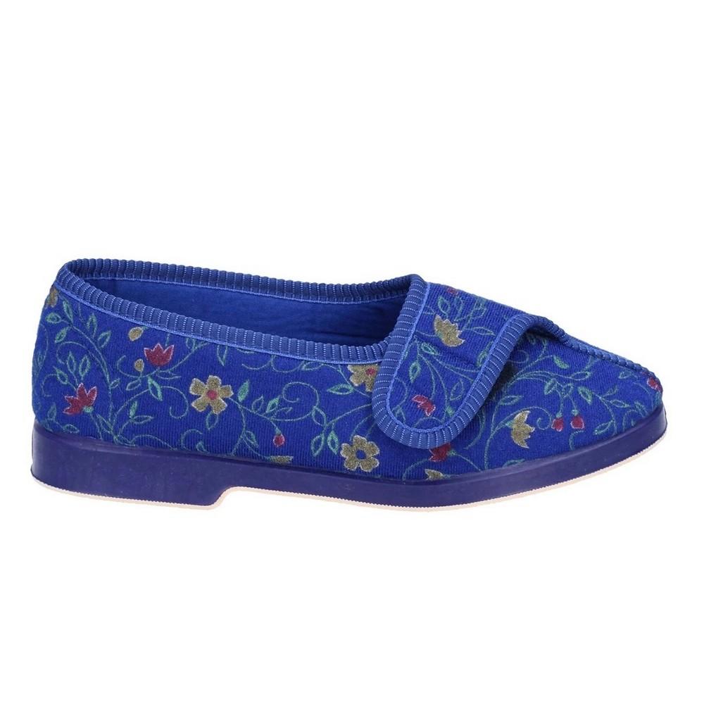 Pantofole Donna in Lana Cotta Grigio e Ghiaccio Chiusura a Strappo Florance