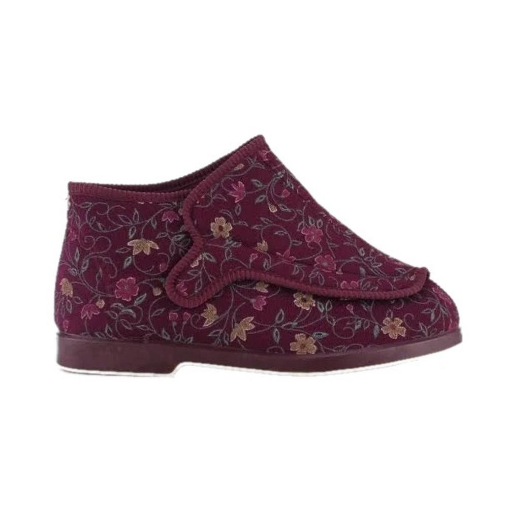 Ladies GBS Rhona Extra Wide Fit Slippers FS126