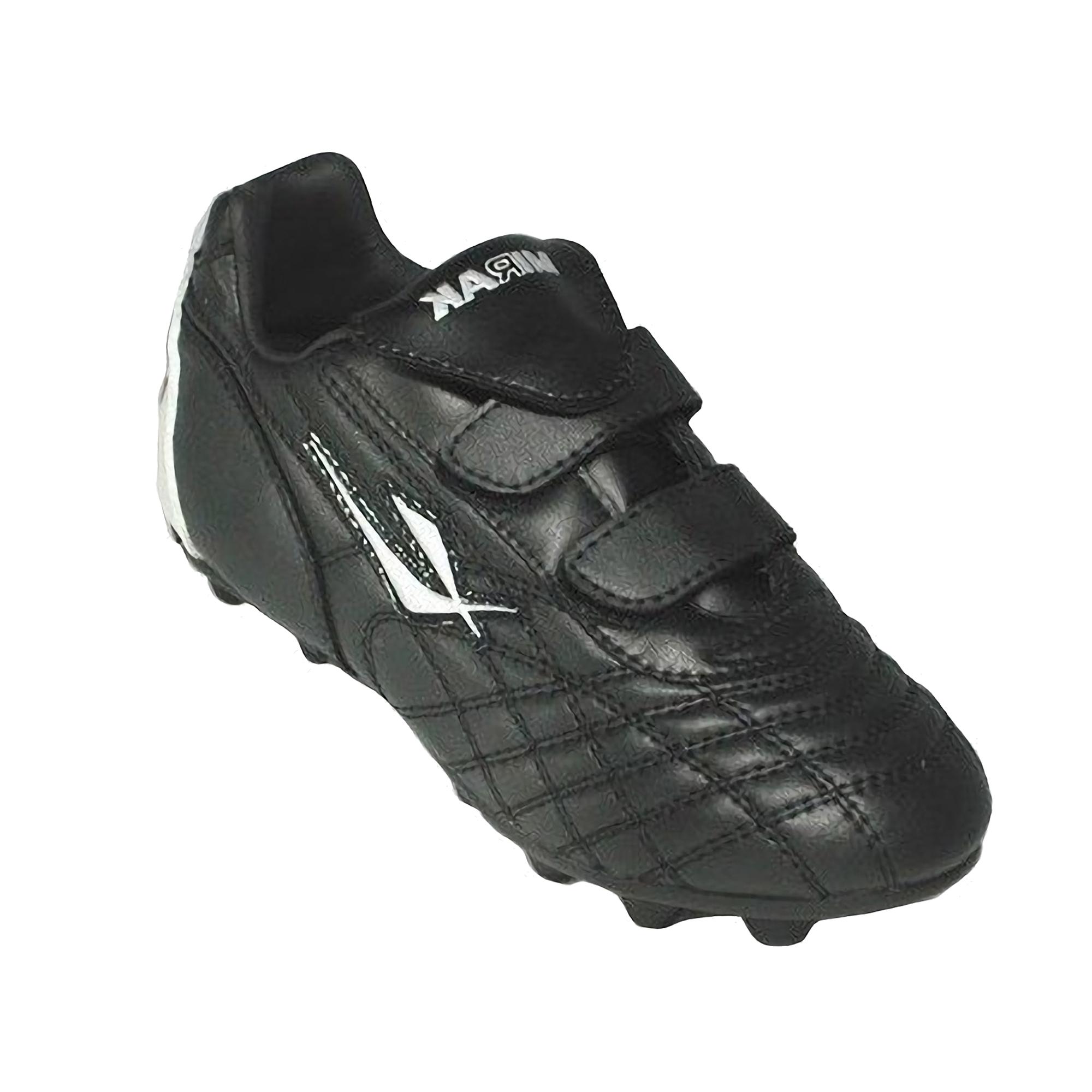 Mirak Forward Childrens/Kids Boys Football/Rugby Screw-In Boots (3 UK) (Black)