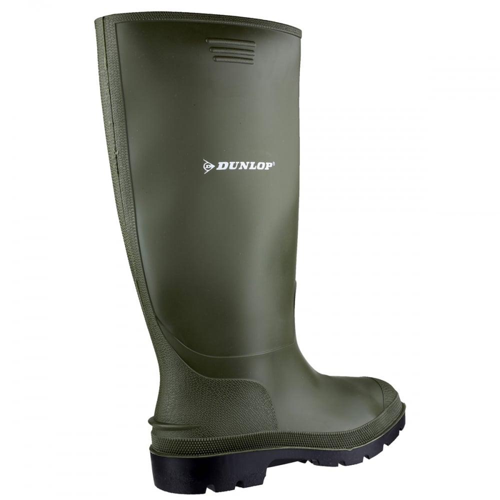 Dunlop-Botas-de-agua-de-PVC-modelo-Pricemastor-para-mujer-FS150 miniatura 5