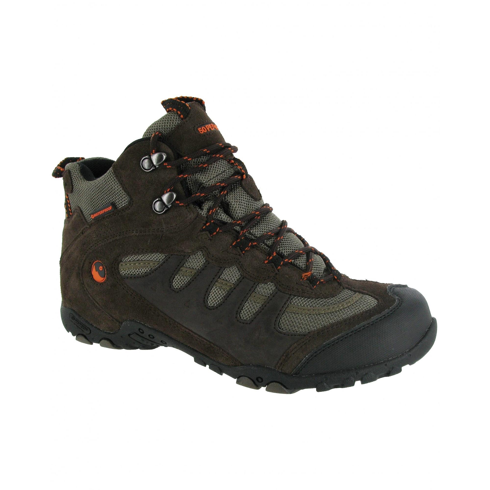 Hi-Tec Herren Penrith Trekking-Schuhe / Wanderstiefel / Wanderschuhe (FS1624)
