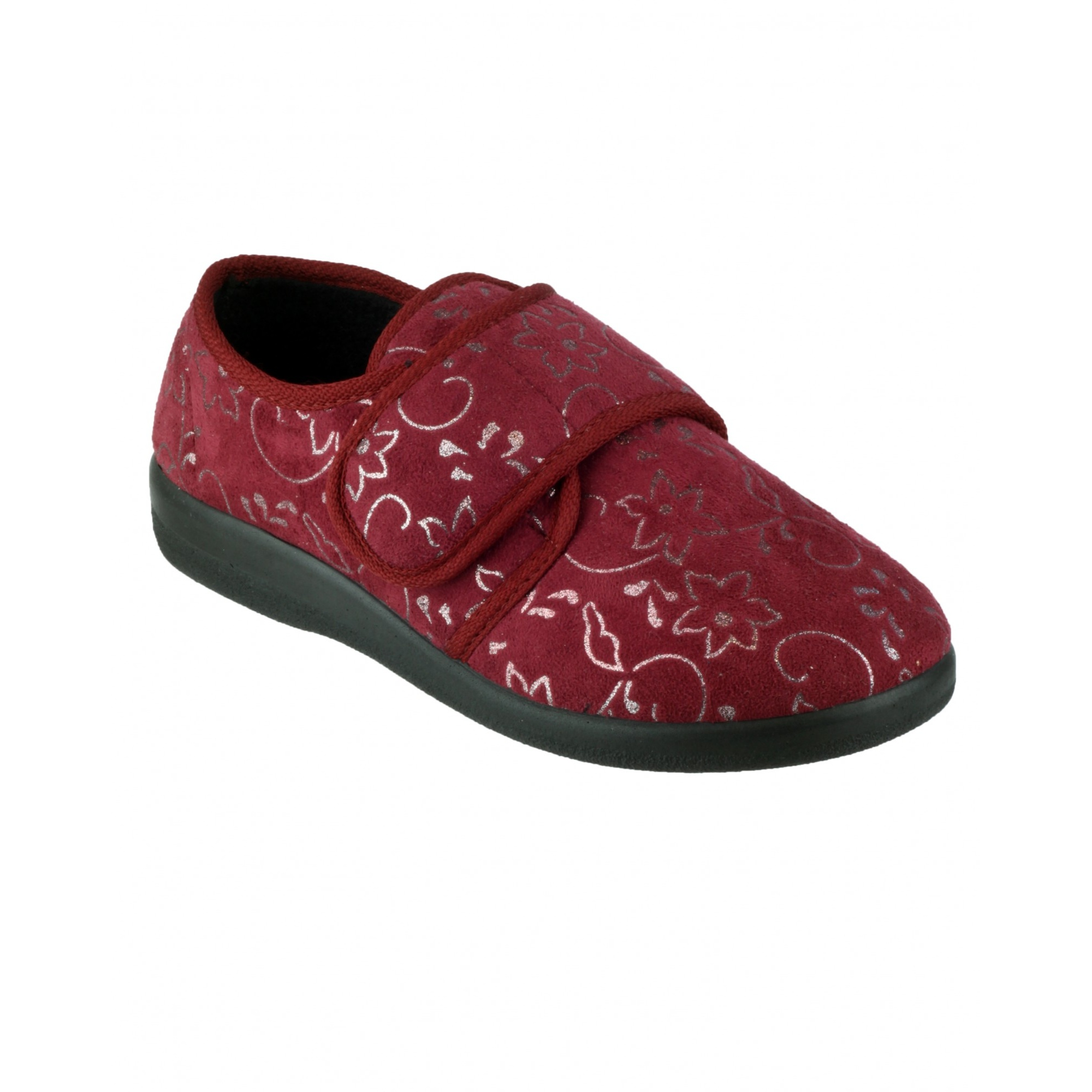 Ladies Wide House Shoes