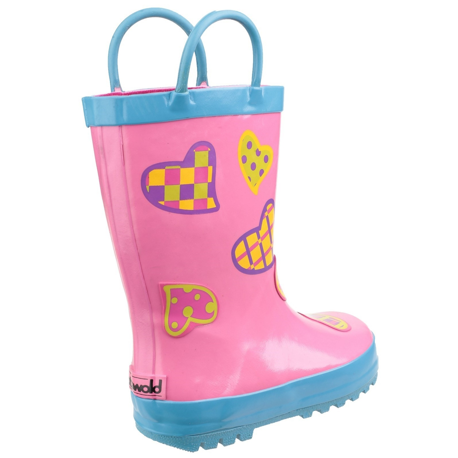 Cotswold Childrens Girls Dotty Spotted Wellington Boots FS3999