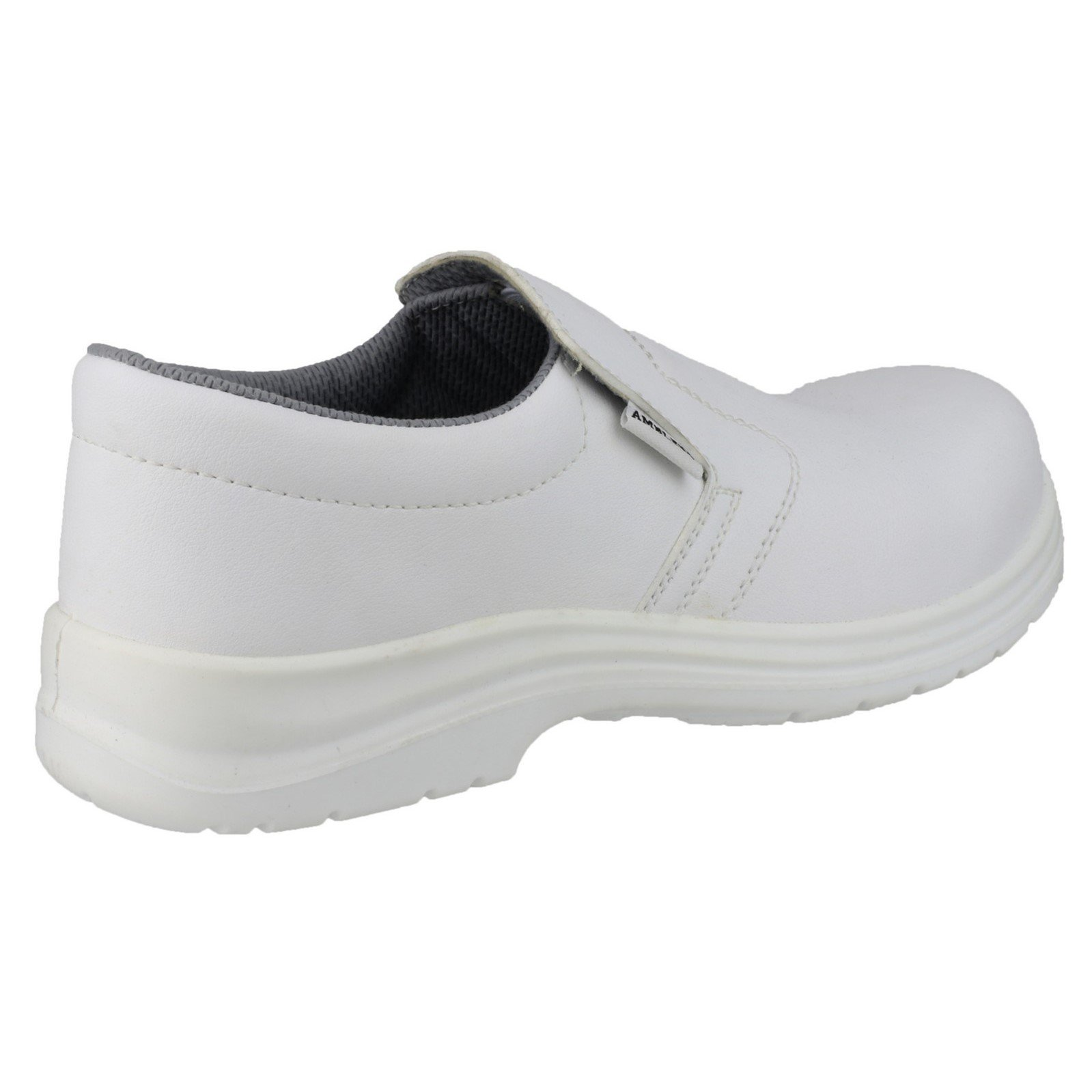 3928923678ff Amblers Safety FS510 Mens/Womens White Slip On Work Safety Shoes ...
