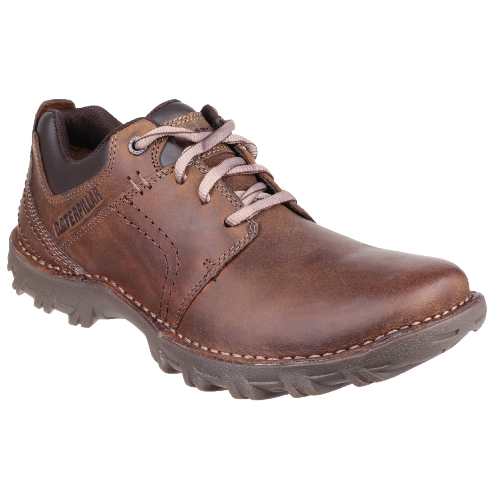 Caterpillar shoes are the perfect work shoes for any job. With steel toe, ASTM, ANSI, and electrical hazard ratings these boots and shoes are made for work. Whether your work shoes are for working in factory, the docks, or a construction site CAT has got you covered.