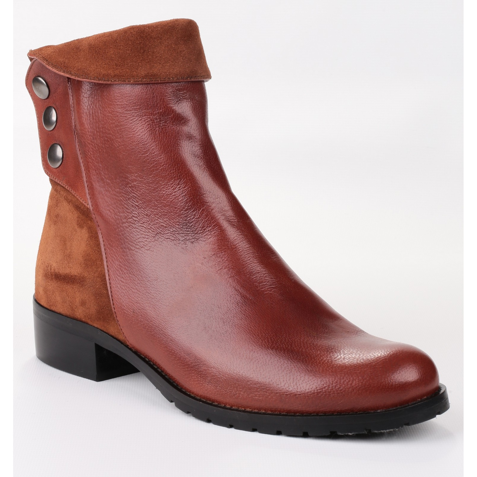 Riva Womens/Ladies Buttons (FS3247) Ankle Boots With Full Leather Outer (FS3247) Buttons 272a09