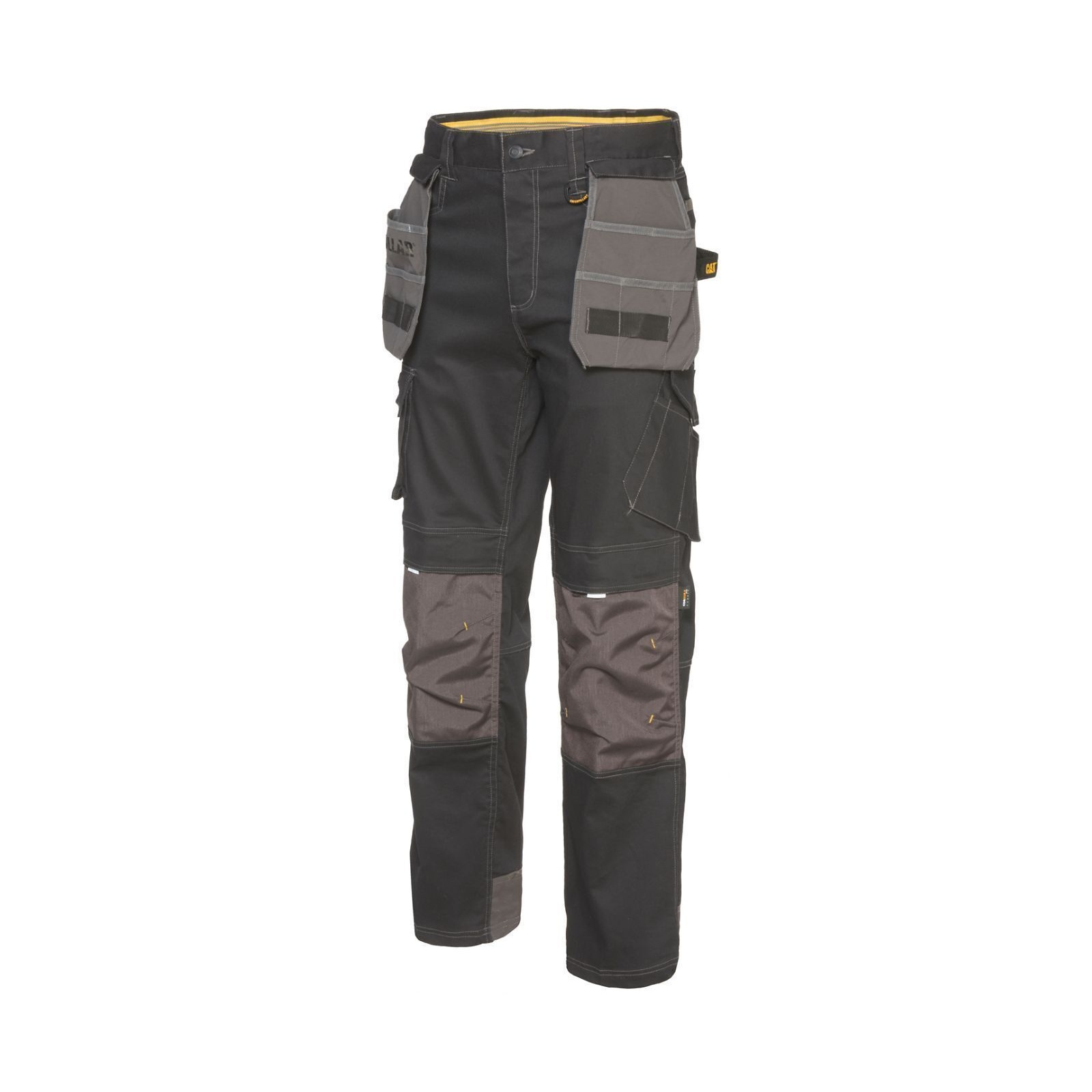 Caterpillar Mens H2O Defender Water Resistant Workwear Trousers (30L) (Black Graphite)